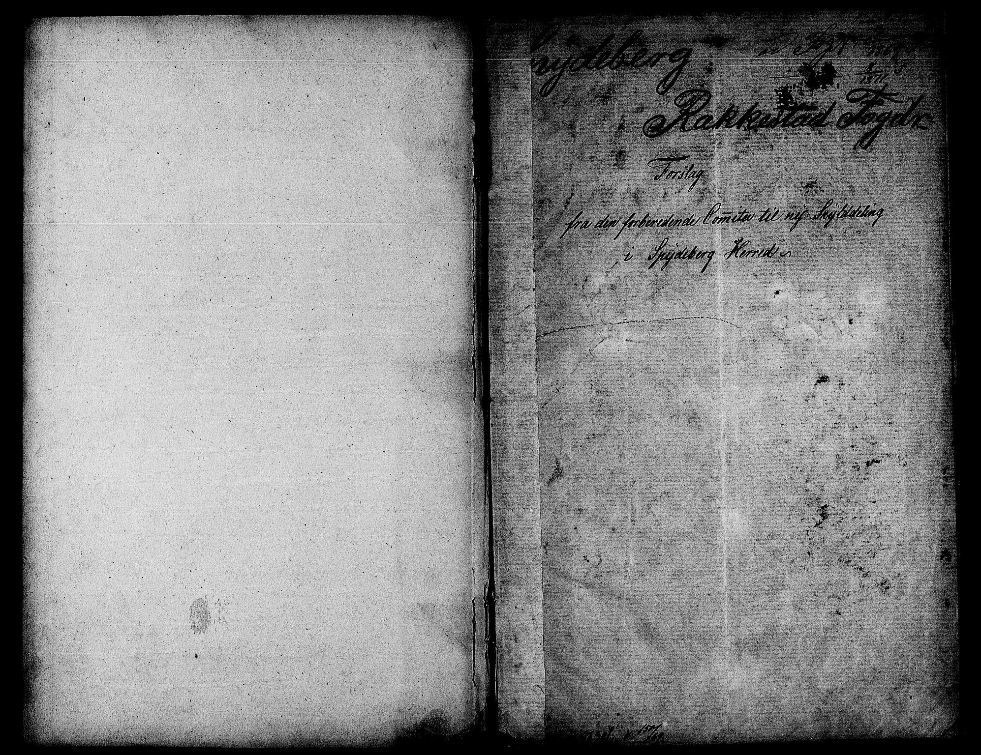 RA, Matrikkelrevisjonen av 1863, F/Fe/L0003: Spydeberg, 1863