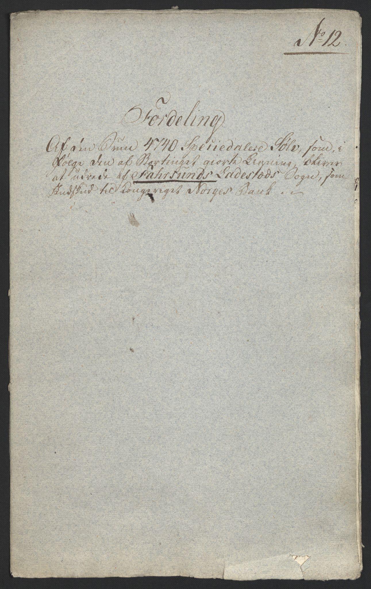 NOBA, Norges Bank/Sølvskatten 1816*, 1816-1822, s. 128