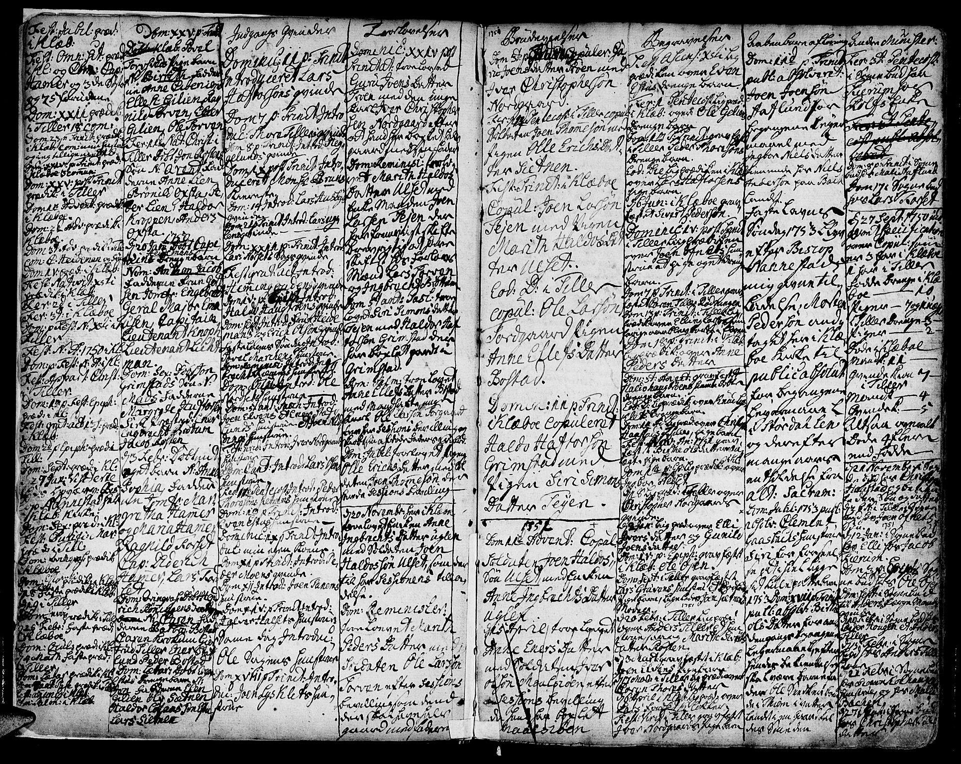 SAT, Ministerialprotokoller, klokkerbøker og fødselsregistre - Sør-Trøndelag, 618/L0437: Ministerialbok nr. 618A02, 1749-1782, s. 2