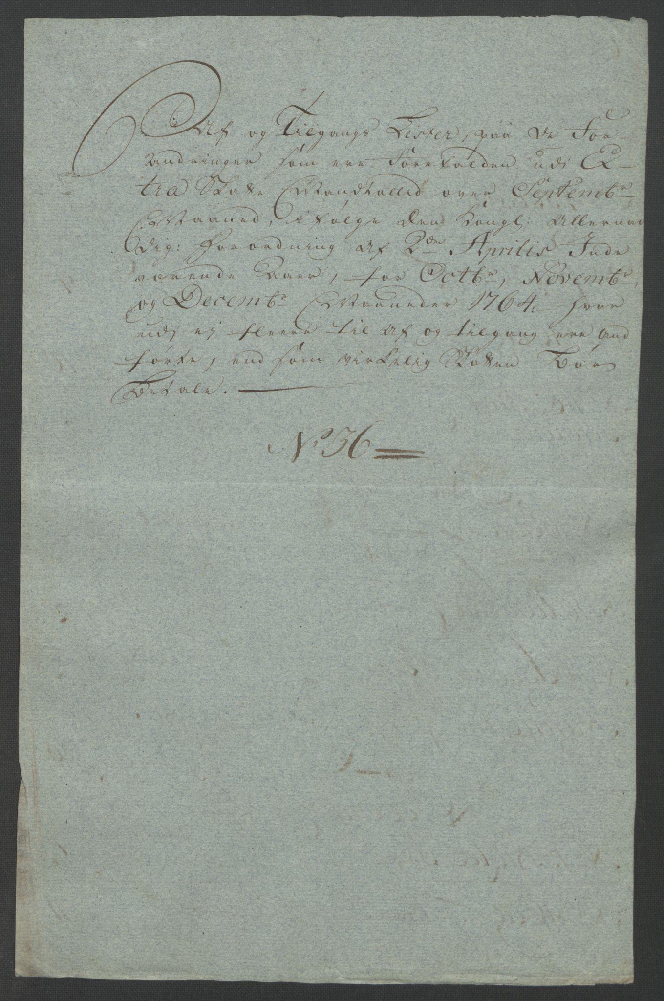 RA, Rentekammeret inntil 1814, Reviderte regnskaper, Fogderegnskap, R12/L0804: Ekstraskatten Øvre Romerike, 1764, s. 76