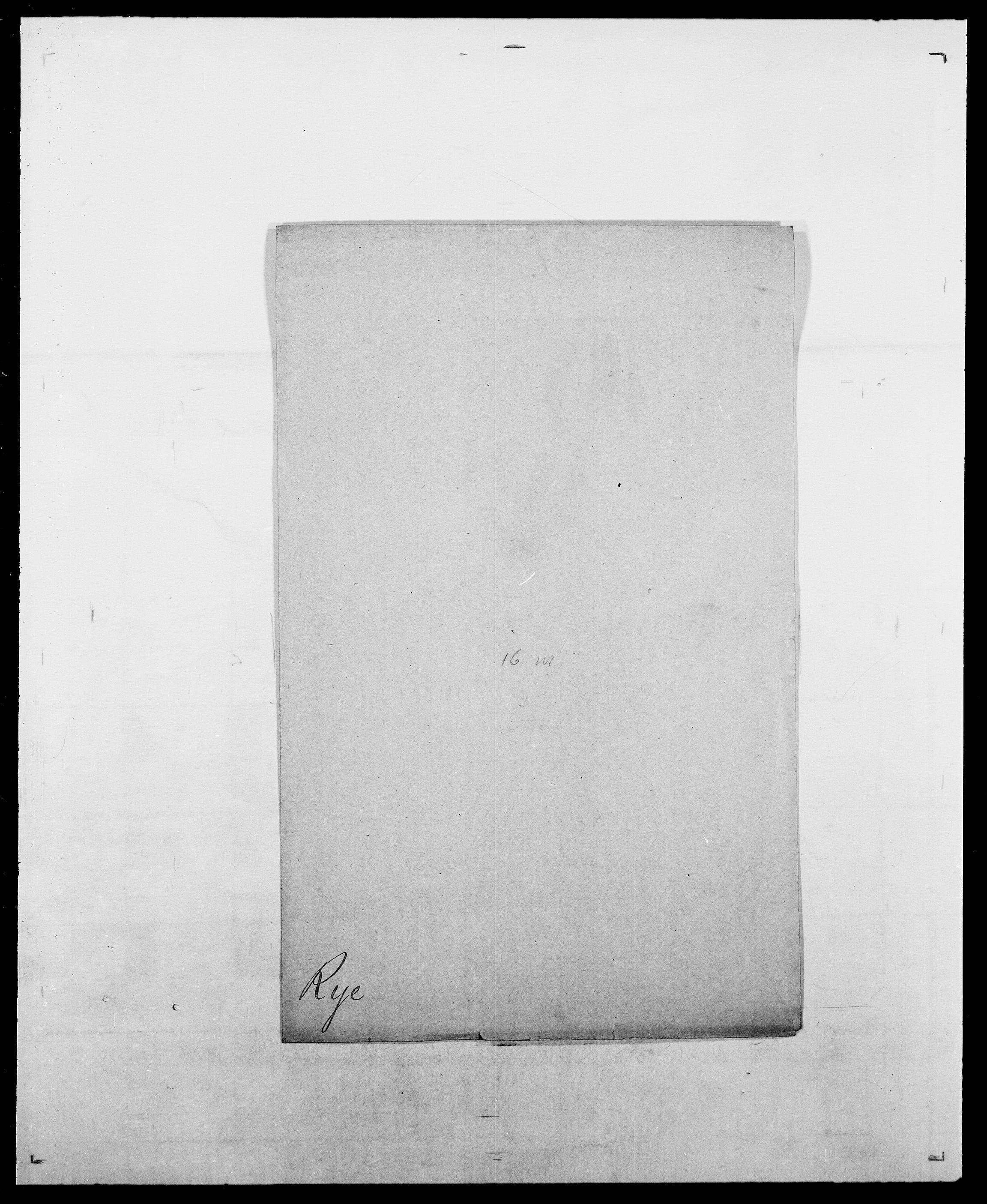 SAO, Delgobe, Charles Antoine - samling, D/Da/L0033: Roald - Røyem, s. 525