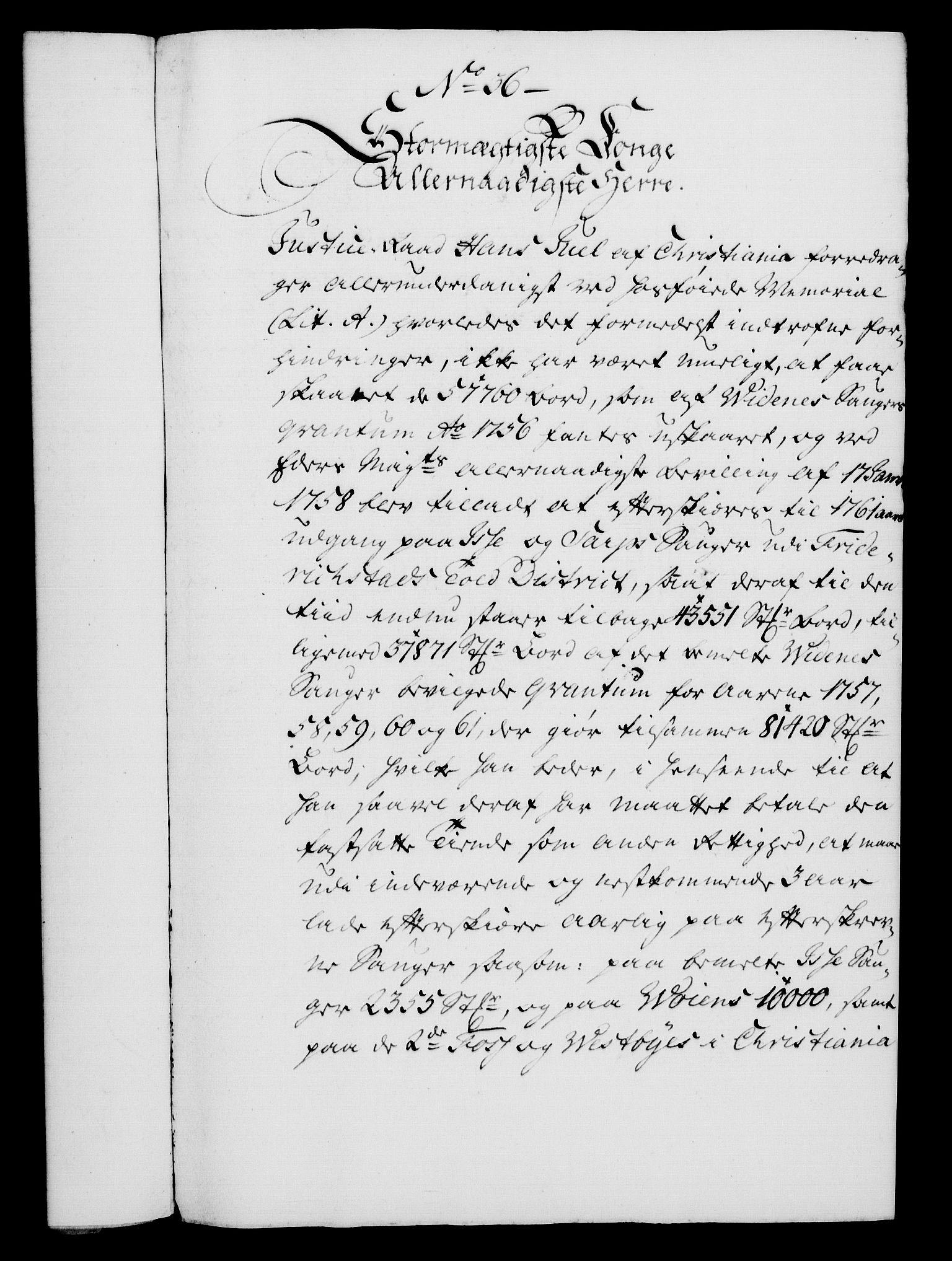 RA, Rentekammeret, Kammerkanselliet, G/Gf/Gfa/L0044: Norsk relasjons- og resolusjonsprotokoll (merket RK 52.44), 1762, s. 157