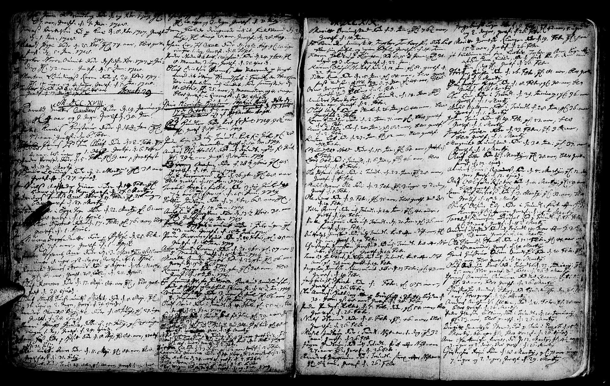 SAT, Ministerialprotokoller, klokkerbøker og fødselsregistre - Nord-Trøndelag, 746/L0439: Ministerialbok nr. 746A01, 1688-1759, s. 57