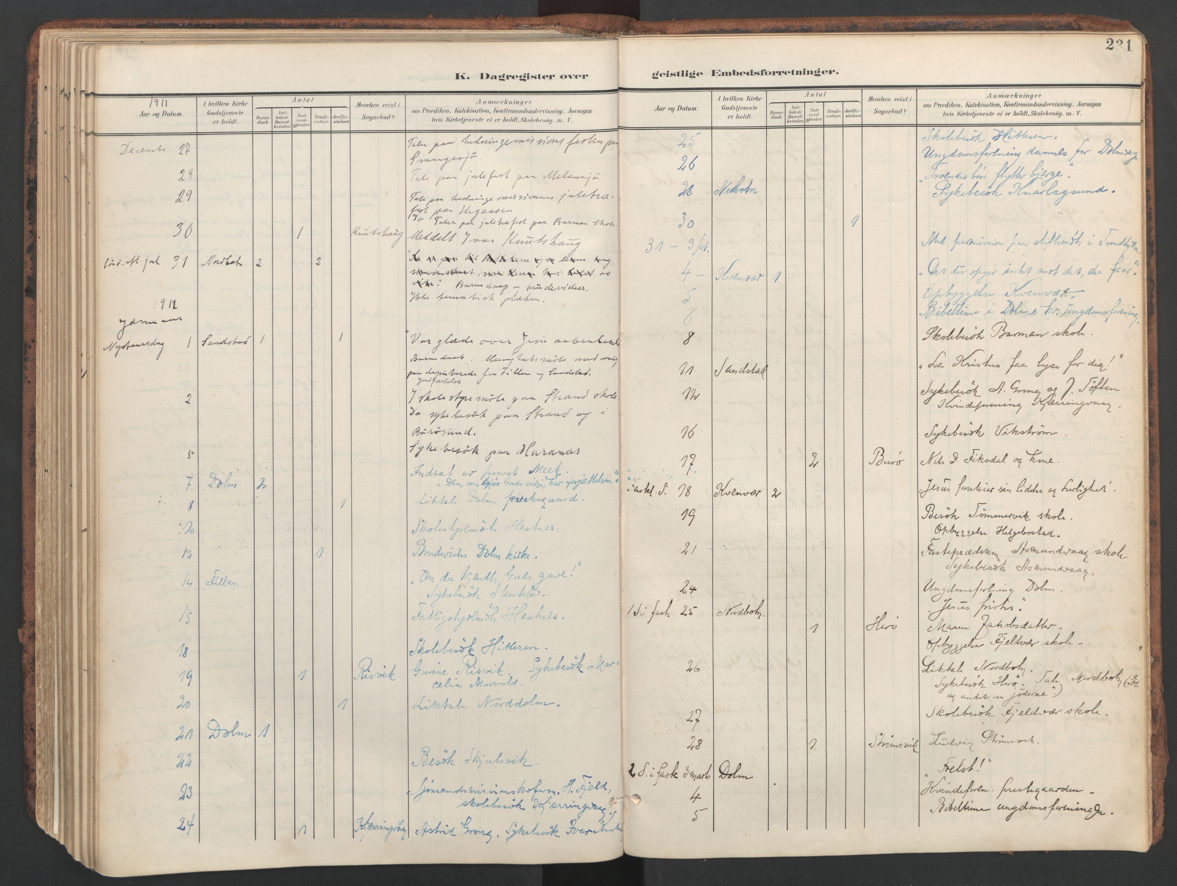 SAT, Ministerialprotokoller, klokkerbøker og fødselsregistre - Sør-Trøndelag, 634/L0537: Ministerialbok nr. 634A13, 1896-1922, s. 231