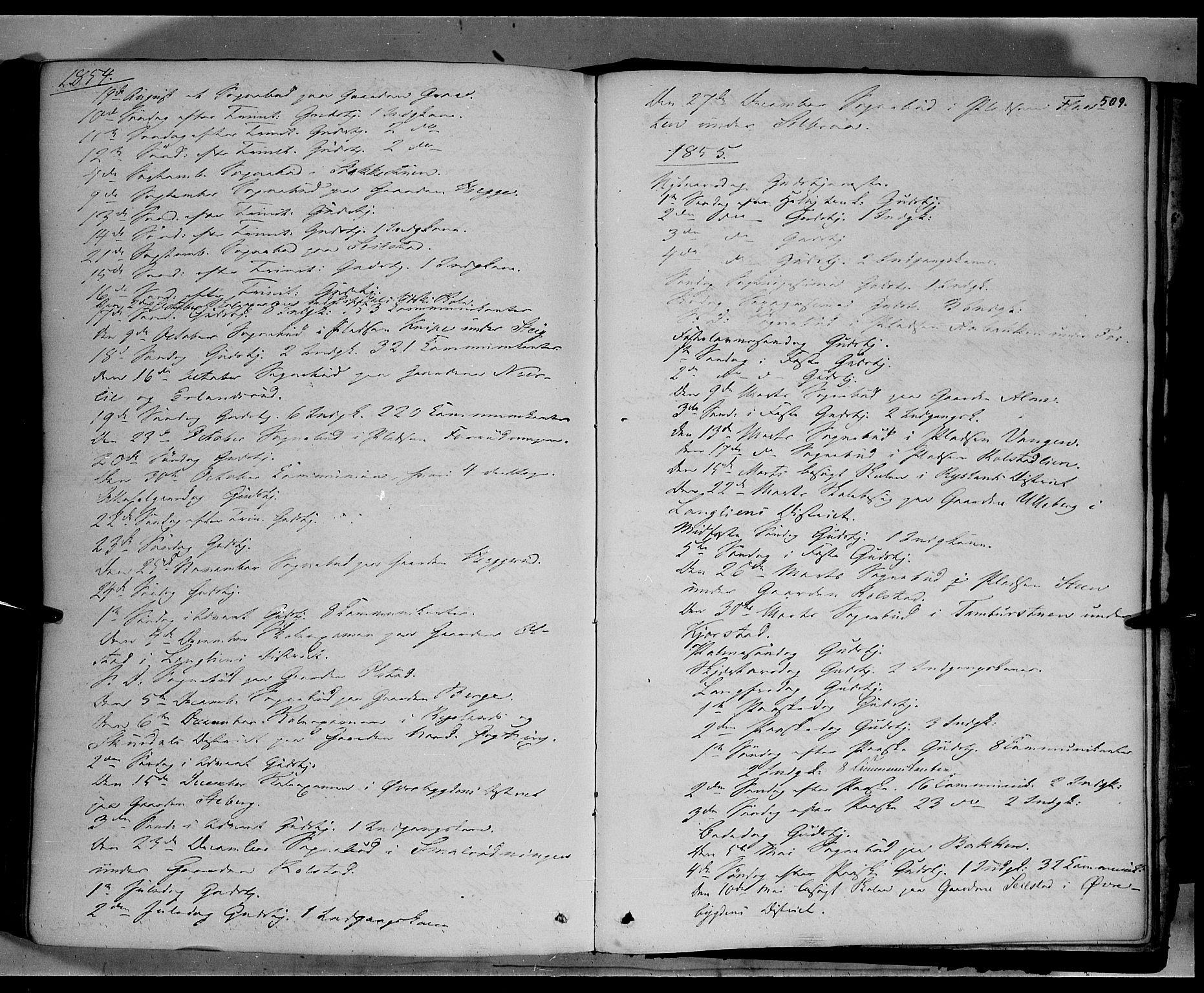 SAH, Sør-Fron prestekontor, H/Ha/Haa/L0001: Ministerialbok nr. 1, 1849-1863, s. 509