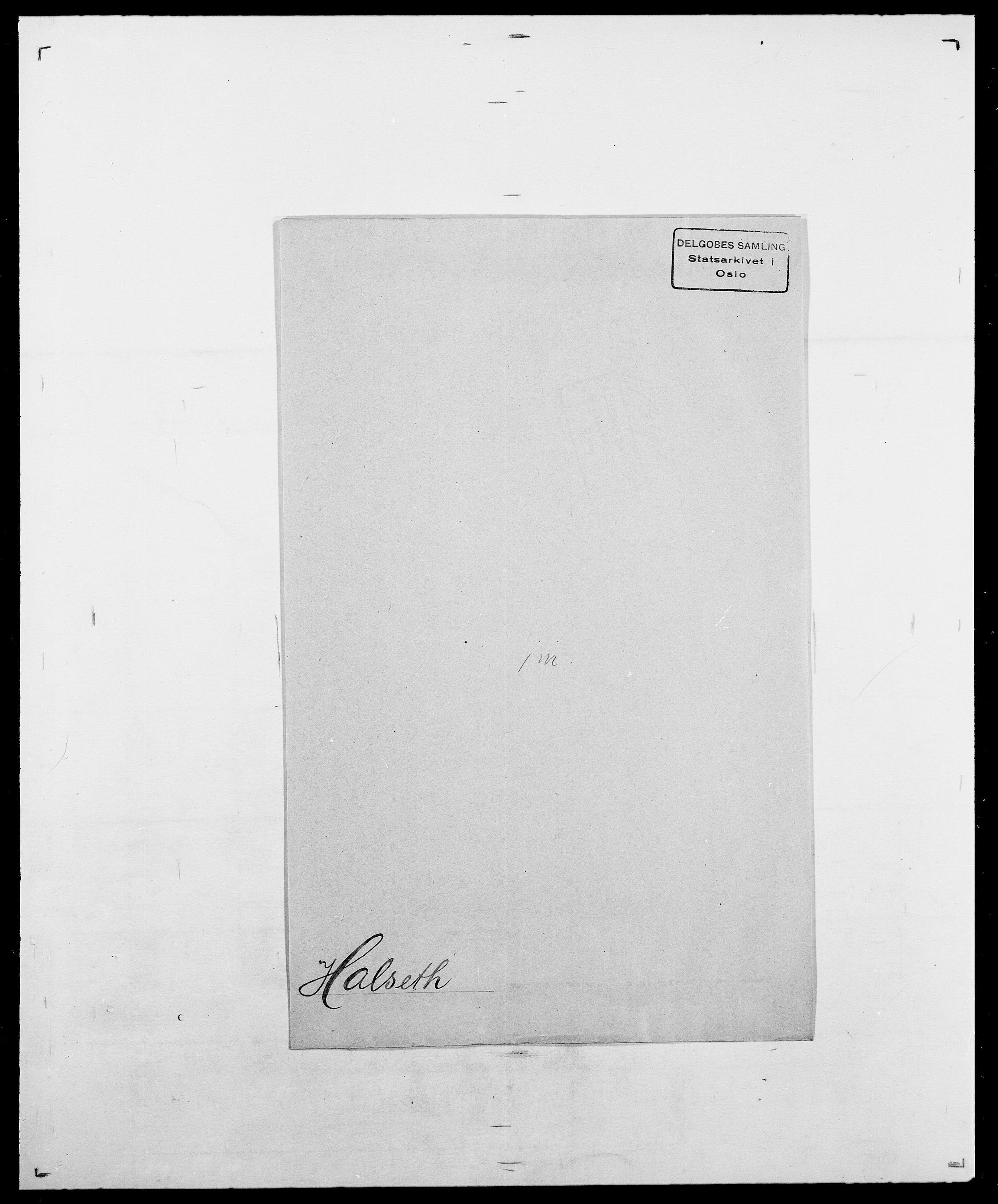 SAO, Delgobe, Charles Antoine - samling, D/Da/L0015: Grodtshilling - Halvorsæth, s. 828