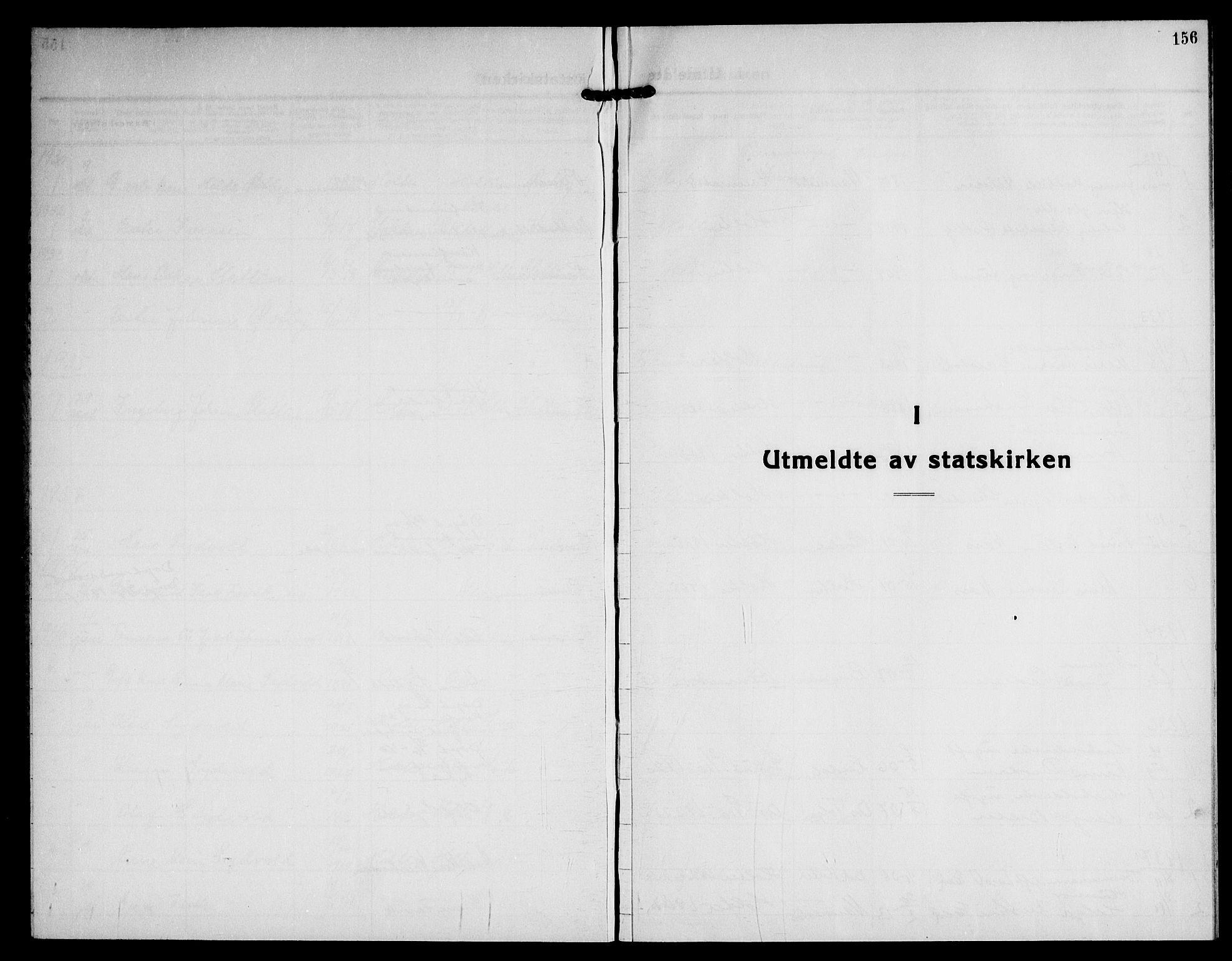 SAO, Nannestad prestekontor Kirkebøker, G/Gb/L0003: Klokkerbok nr. II 3, 1929-1946, s. 156