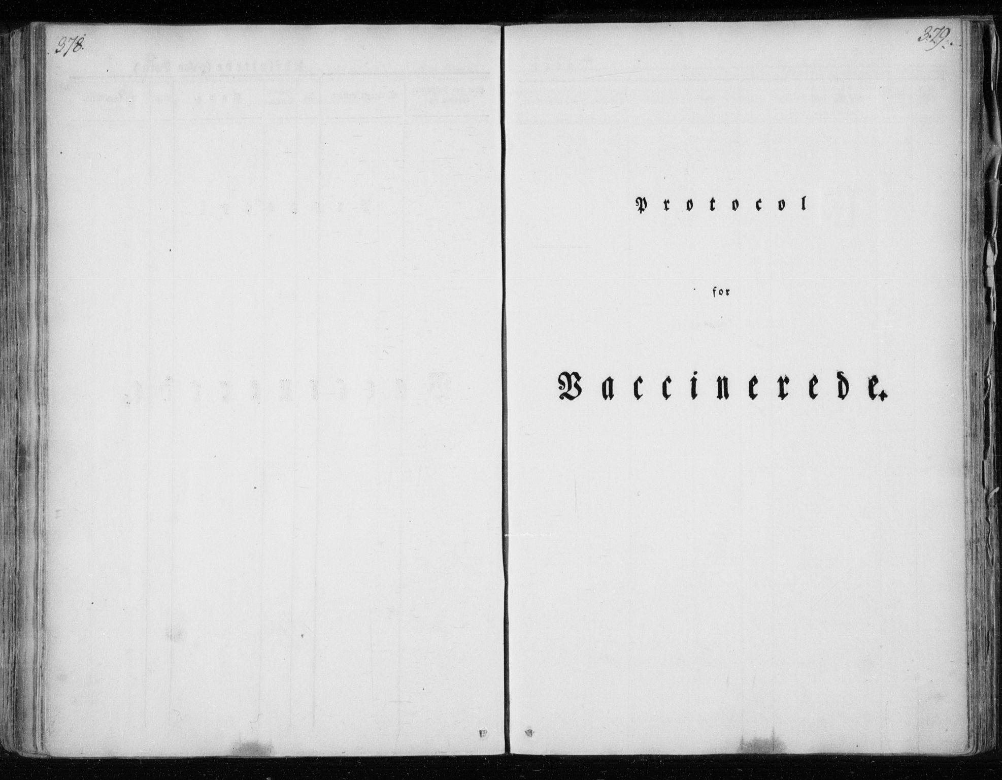 SAT, Ministerialprotokoller, klokkerbøker og fødselsregistre - Nordland, 825/L0354: Ministerialbok nr. 825A08, 1826-1841, s. 378-379