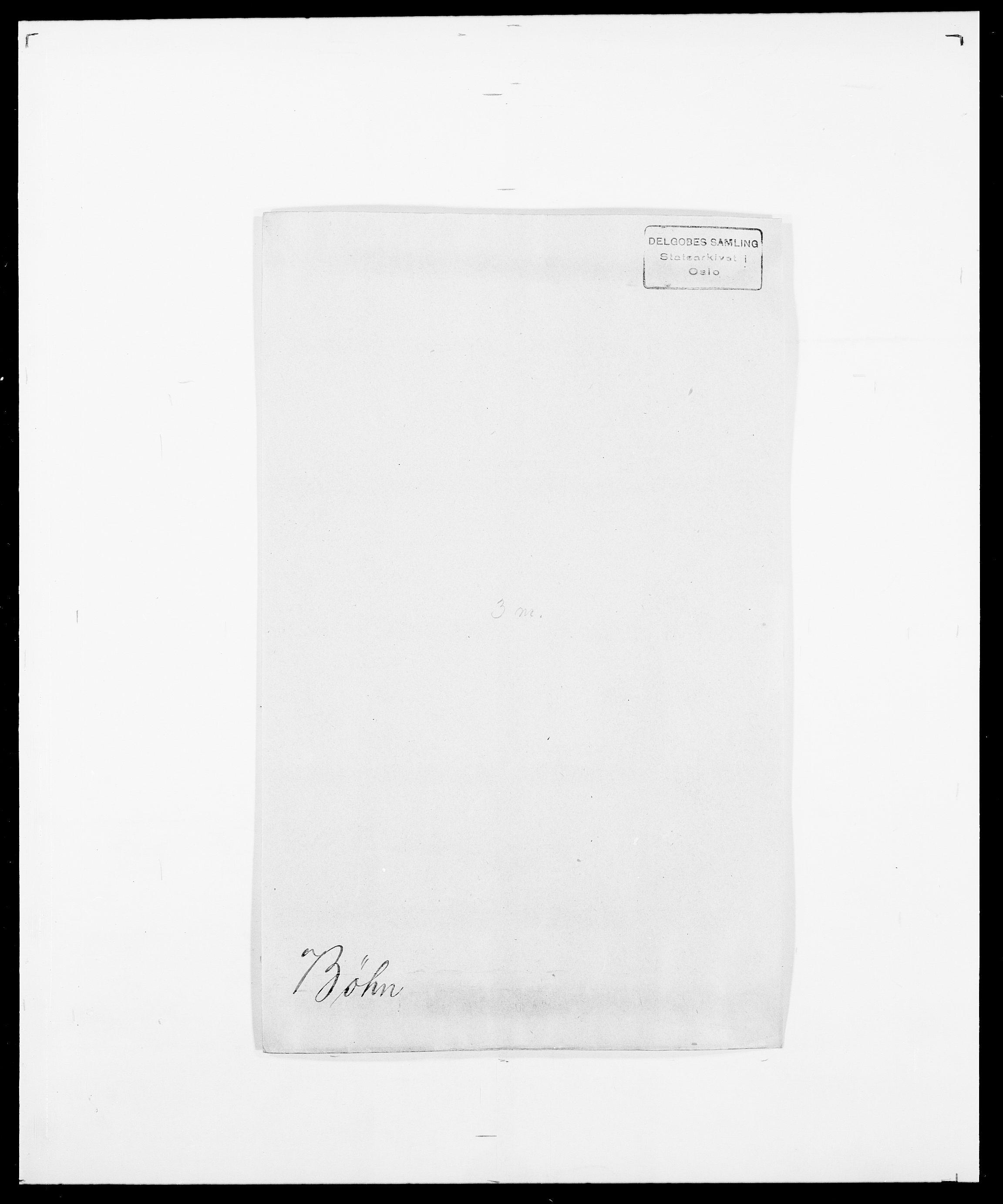 SAO, Delgobe, Charles Antoine - samling, D/Da/L0007: Buaas - Caphengst, s. 737