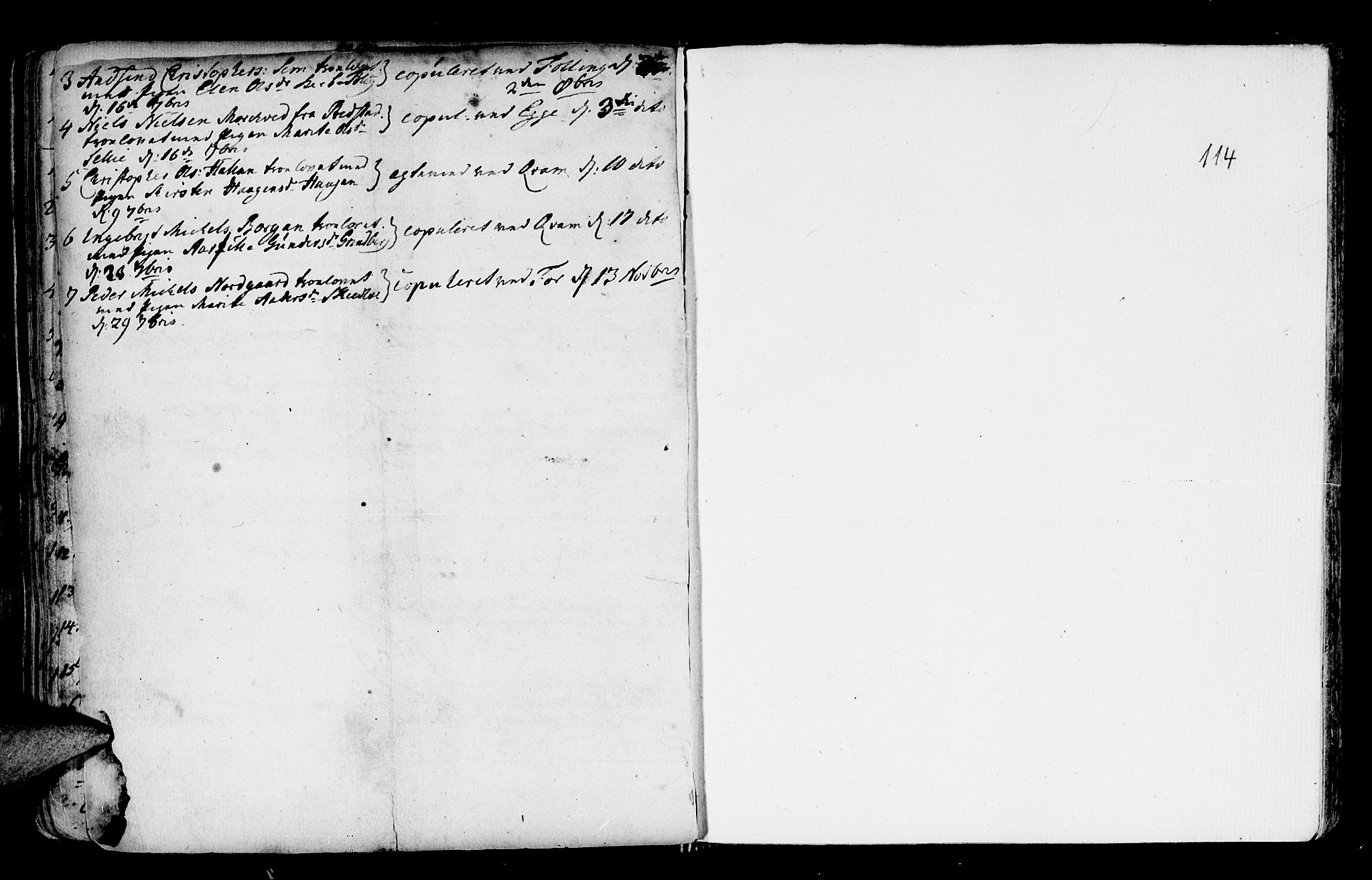 SAT, Ministerialprotokoller, klokkerbøker og fødselsregistre - Nord-Trøndelag, 746/L0439: Ministerialbok nr. 746A01, 1688-1759, s. 114