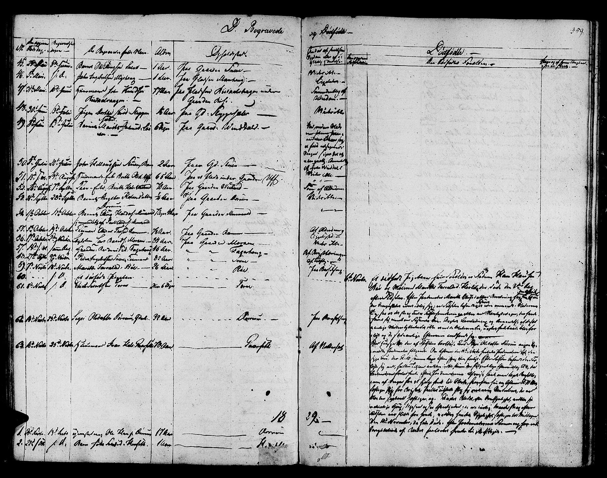 SAT, Ministerialprotokoller, klokkerbøker og fødselsregistre - Sør-Trøndelag, 678/L0897: Ministerialbok nr. 678A06-07, 1821-1847, s. 359