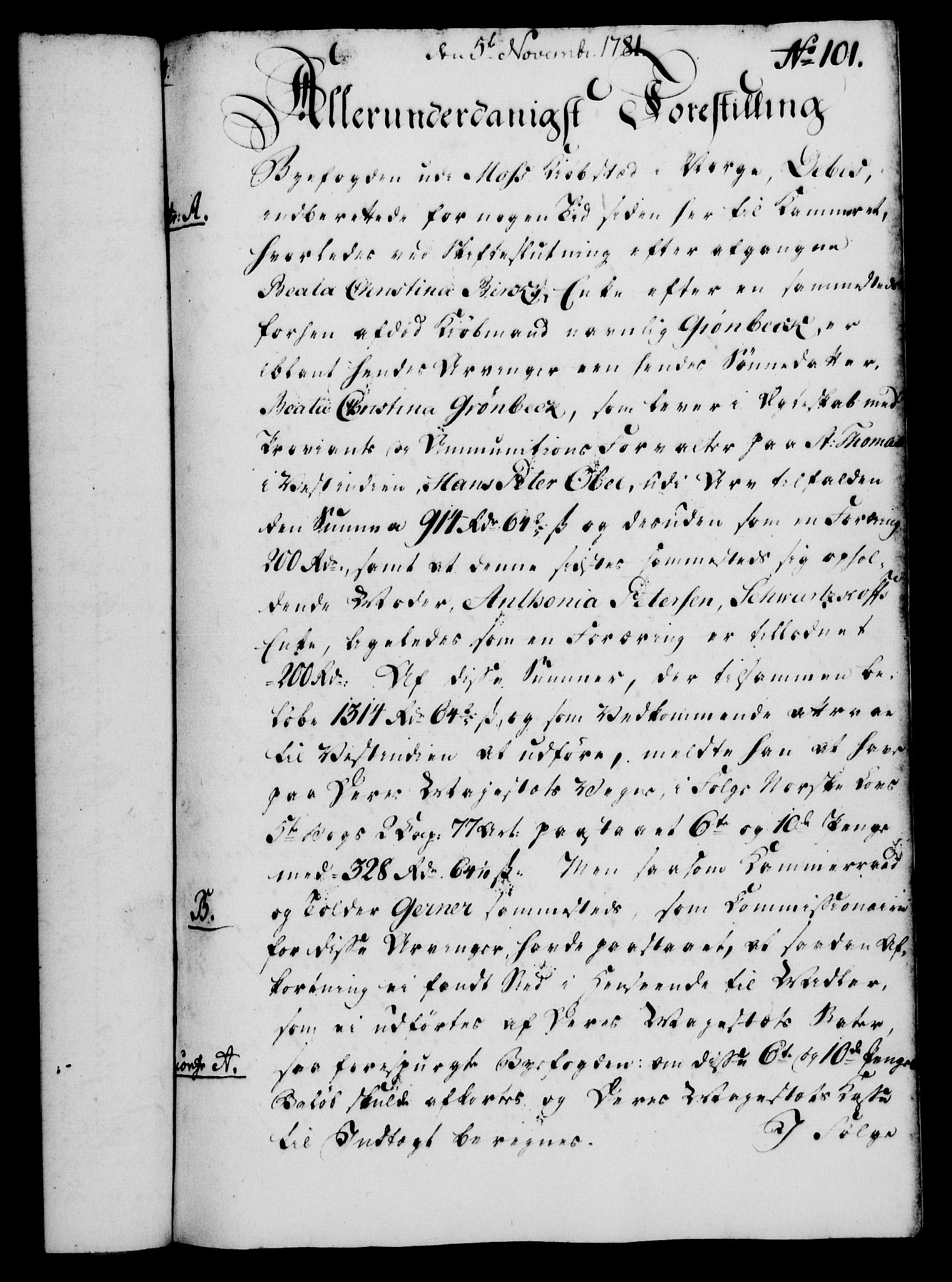RA, Rentekammeret, Kammerkanselliet, G/Gf/Gfa/L0063: Norsk relasjons- og resolusjonsprotokoll (merket RK 52.63), 1781, s. 1073