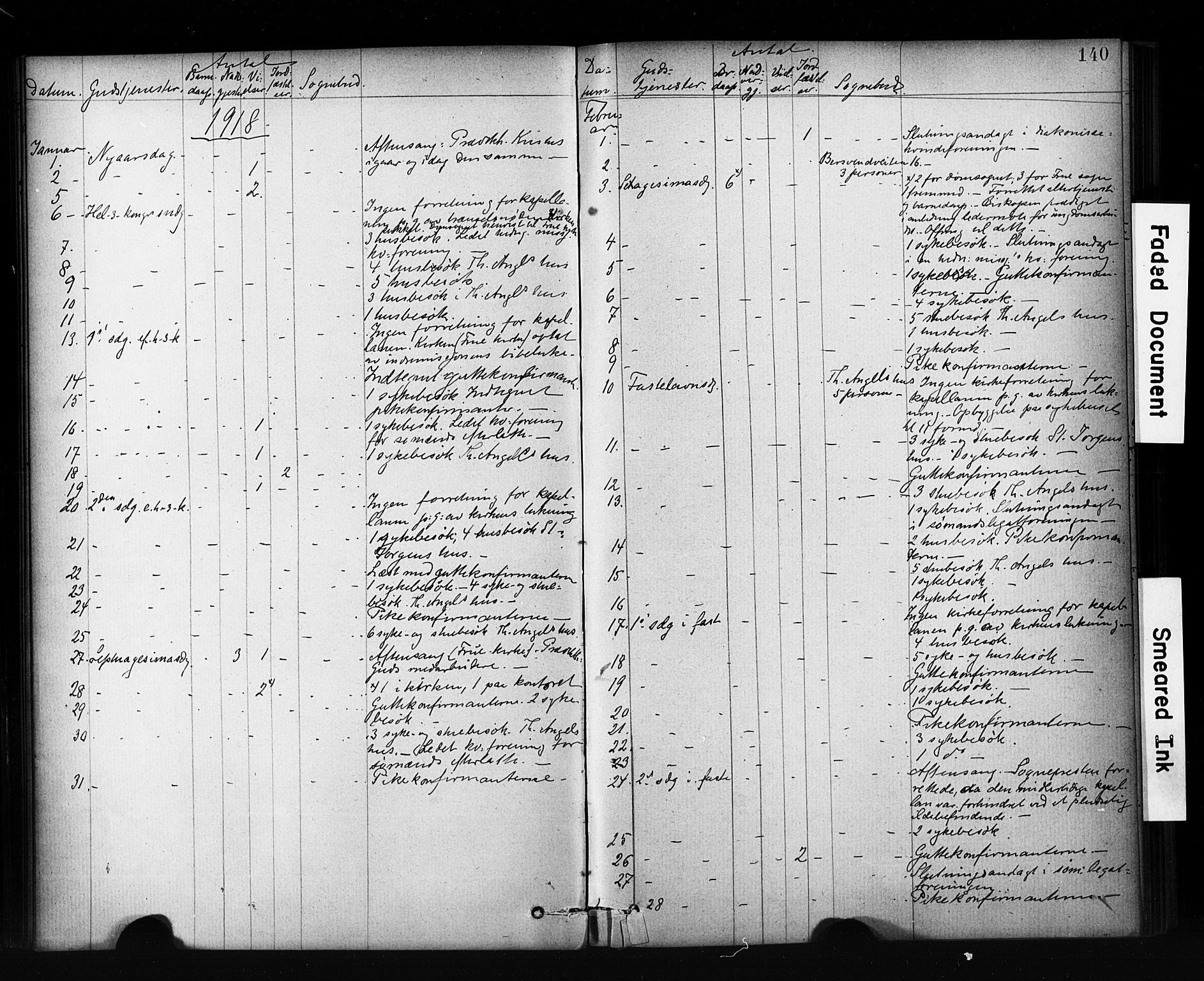 SAT, Ministerialprotokoller, klokkerbøker og fødselsregistre - Sør-Trøndelag, 601/L0071: Residerende kapellans bok nr. 601B04, 1882-1931, s. 140