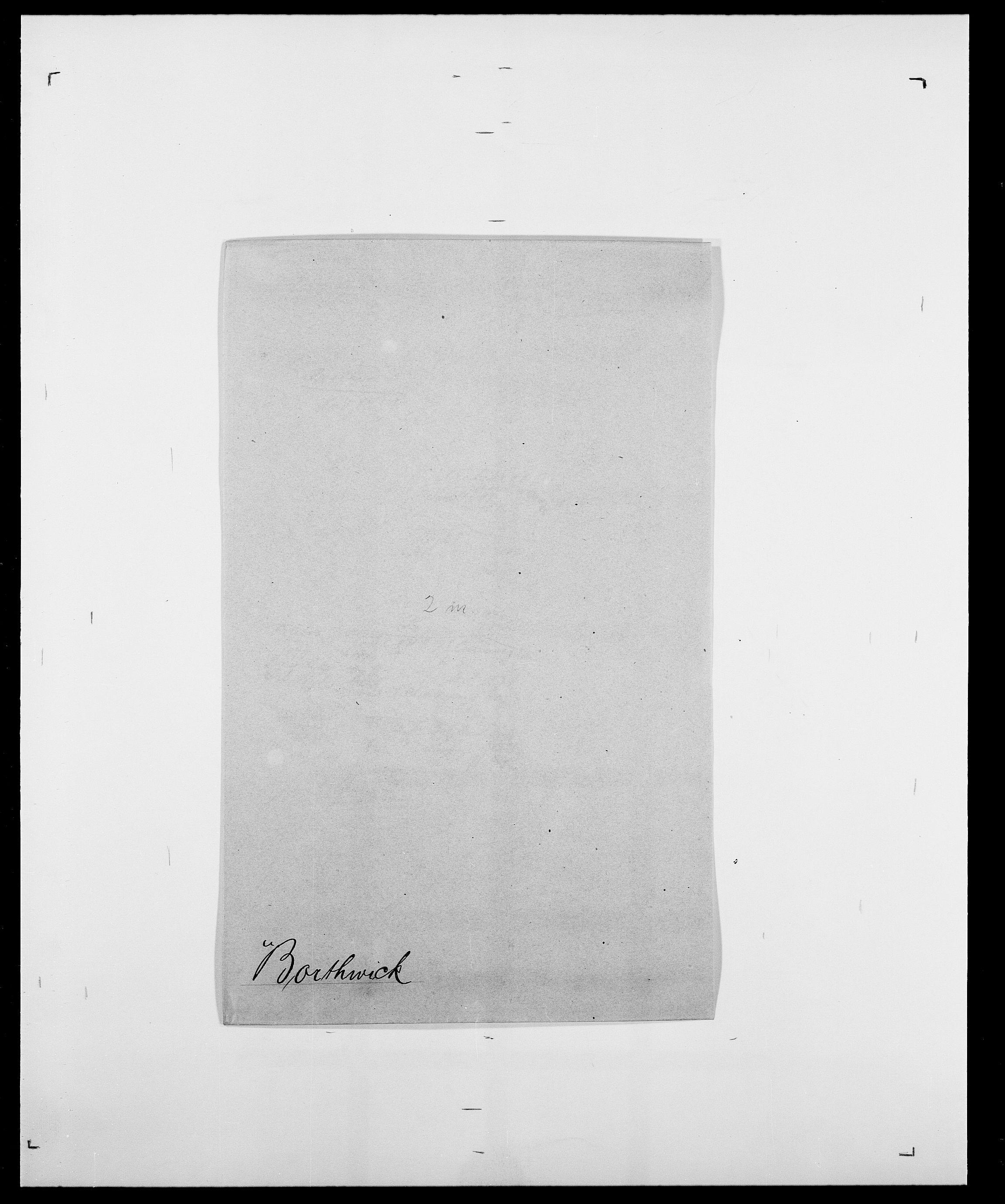 SAO, Delgobe, Charles Antoine - samling, D/Da/L0005: Boalth - Brahm, s. 323