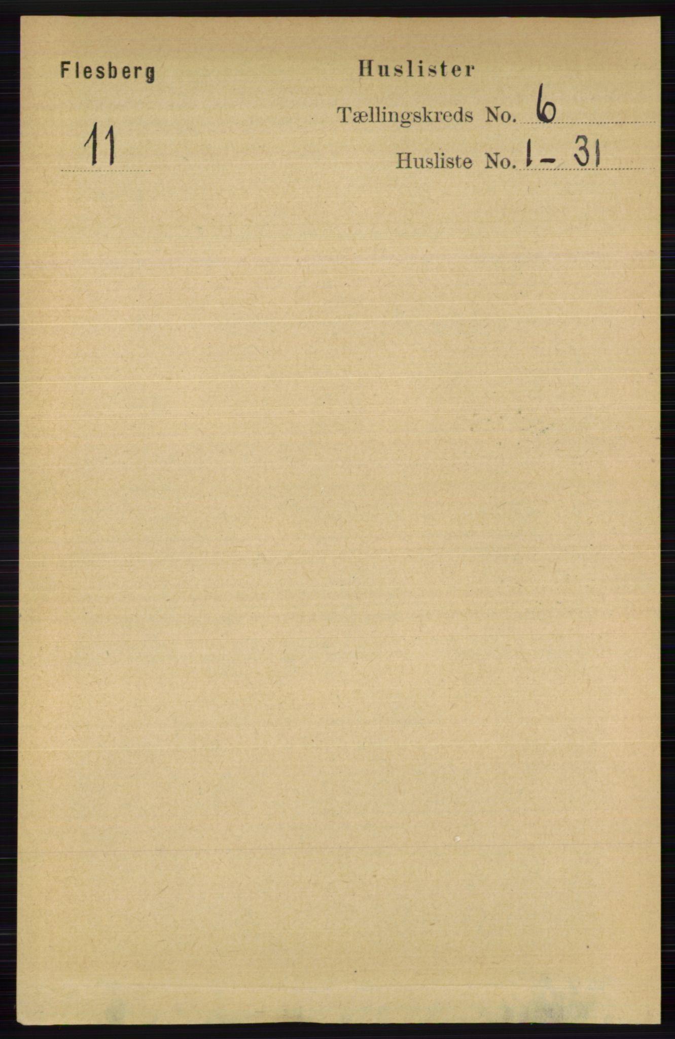 RA, Folketelling 1891 for 0631 Flesberg herred, 1891, s. 920