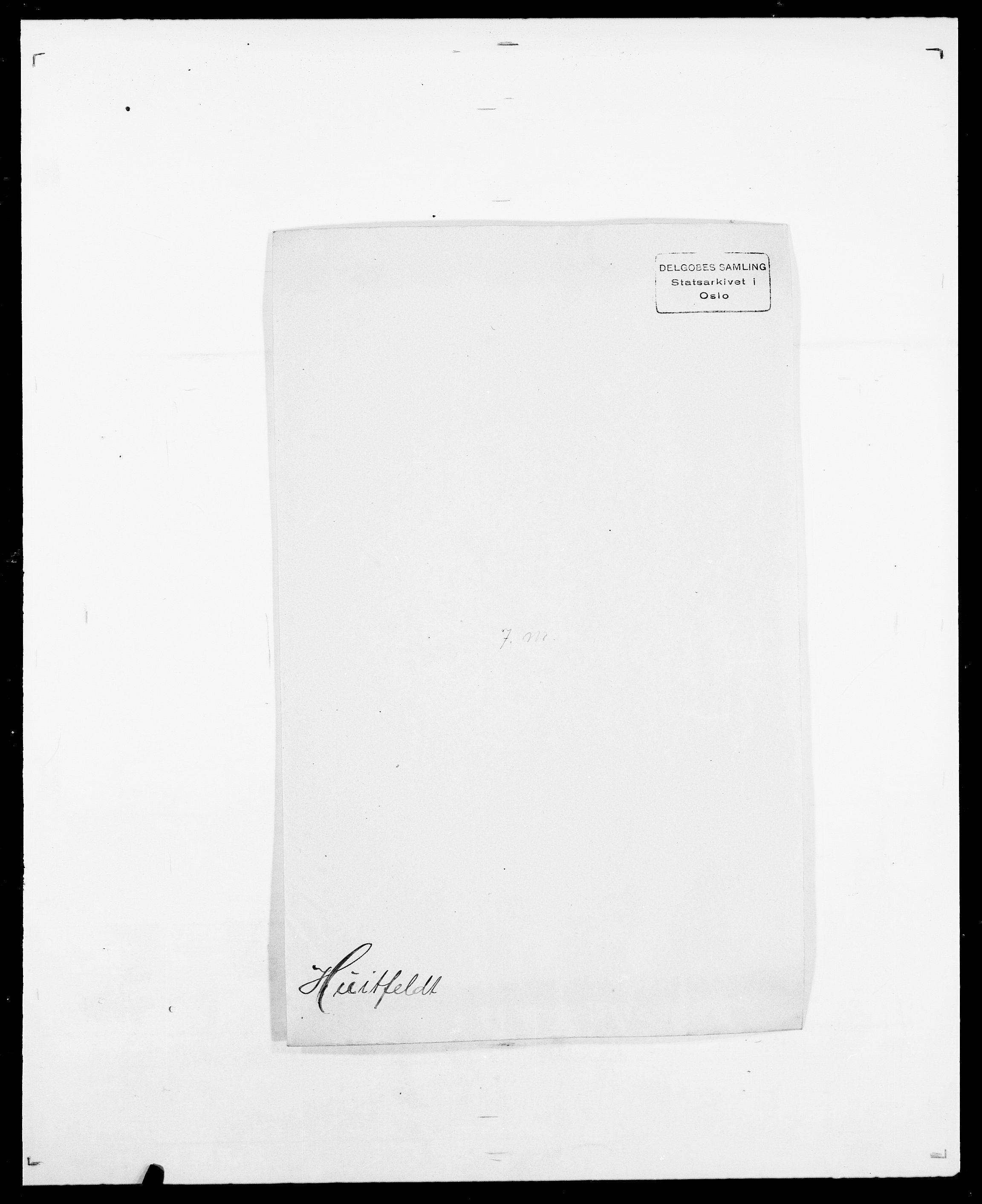 SAO, Delgobe, Charles Antoine - samling, D/Da/L0019: van der Hude - Joys, s. 36
