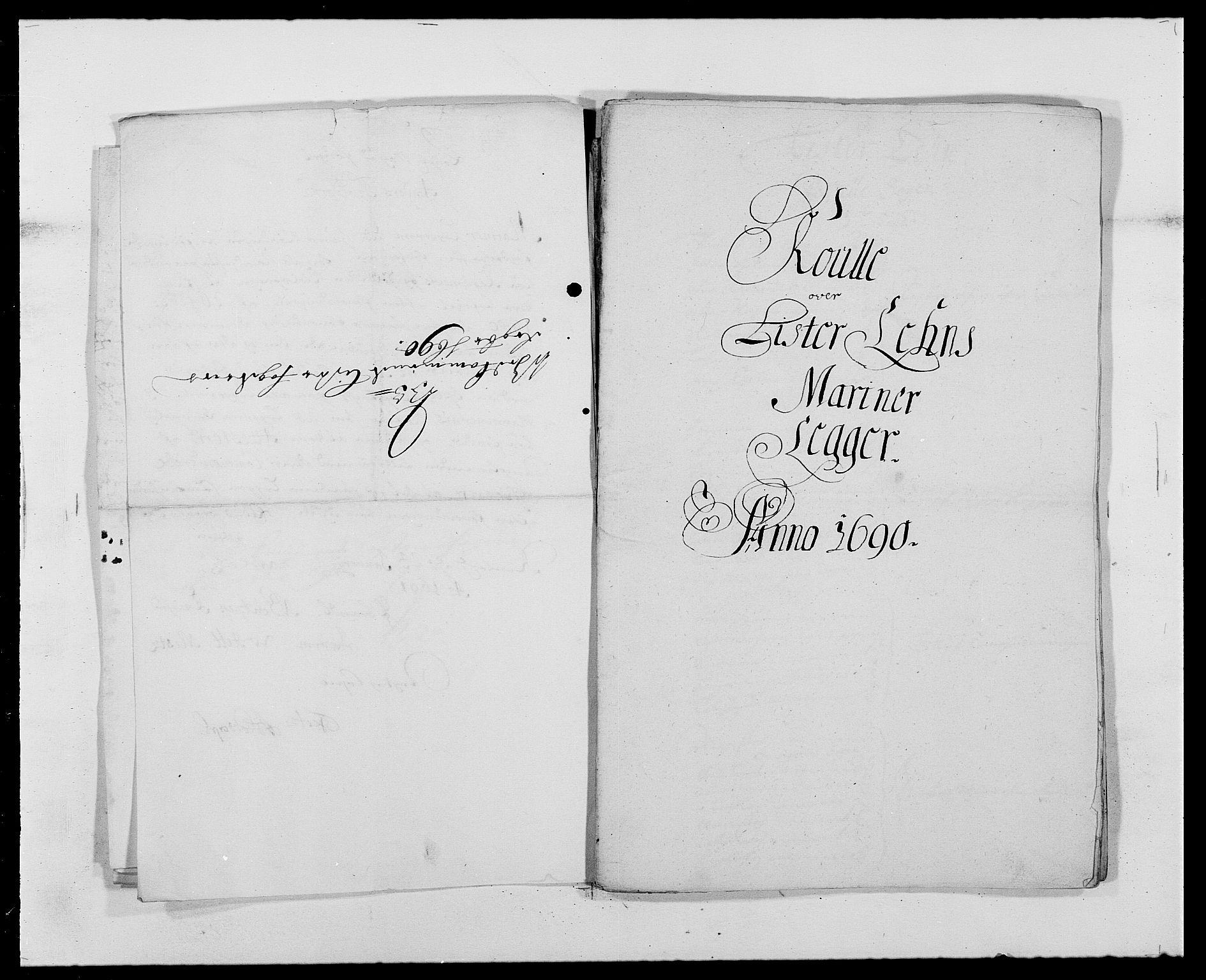 RA, Rentekammeret inntil 1814, Reviderte regnskaper, Fogderegnskap, R41/L2536: Fogderegnskap Lista, 1690-1693, s. 68