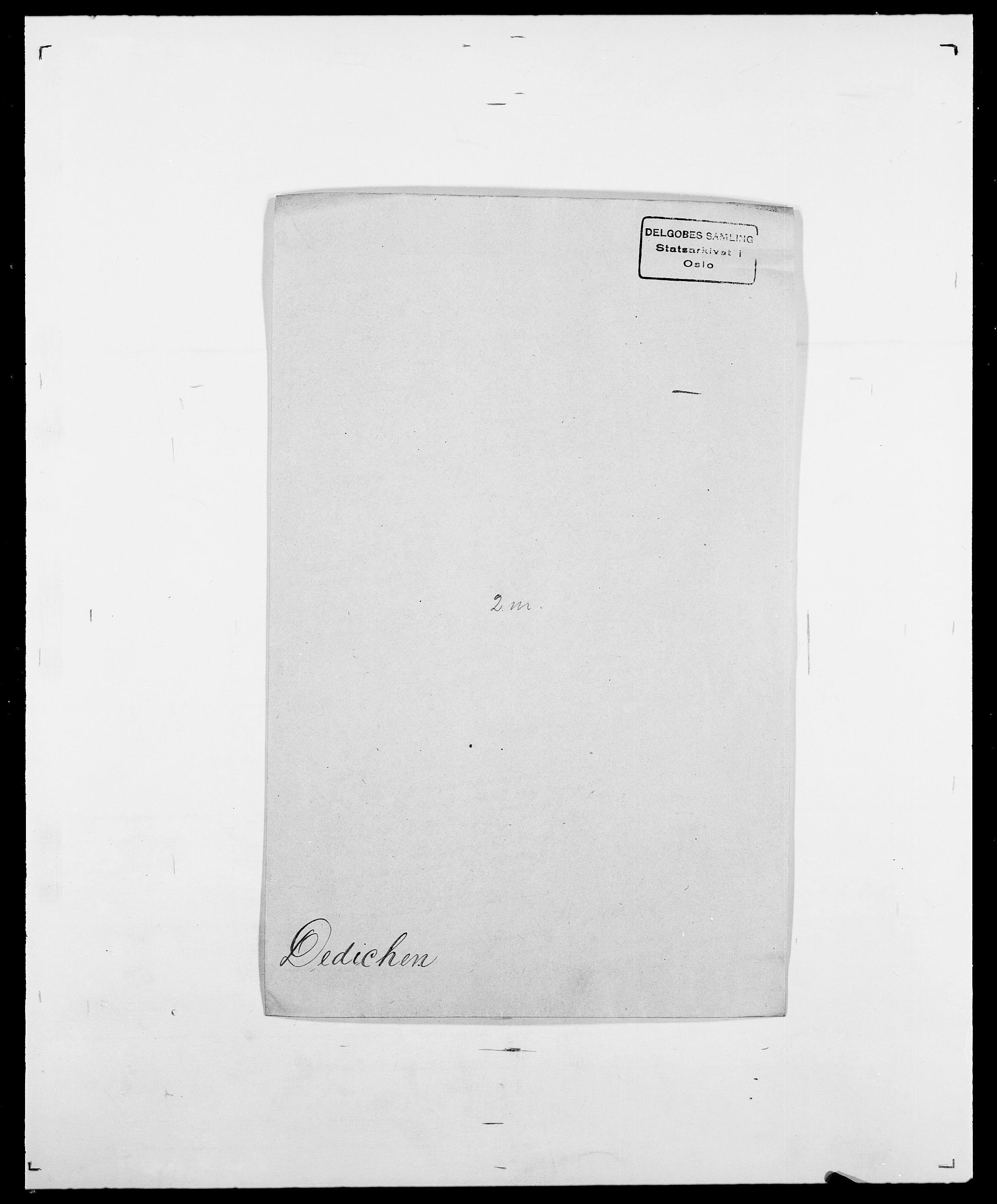 SAO, Delgobe, Charles Antoine - samling, D/Da/L0009: Dahl - v. Düren, s. 416