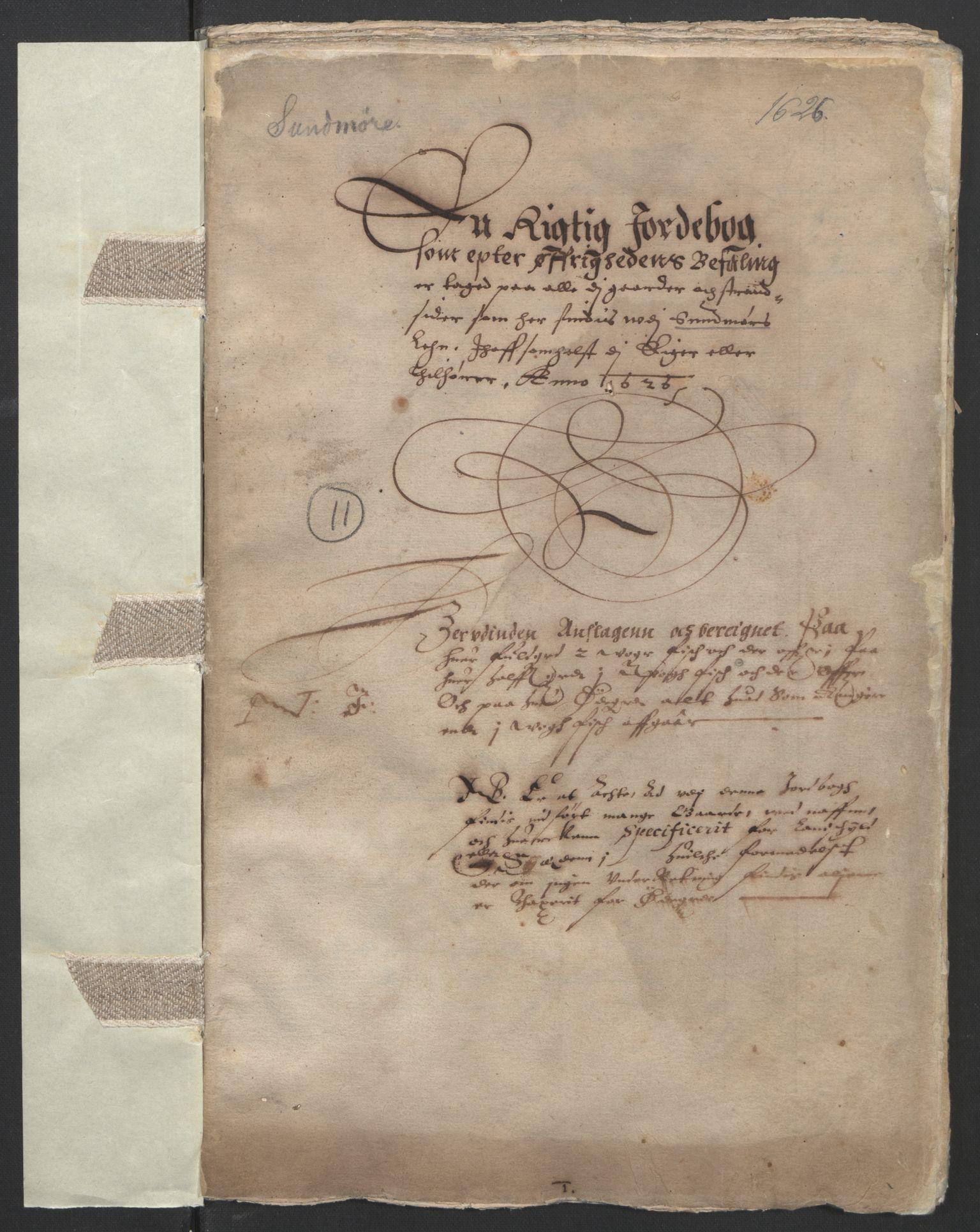 RA, Stattholderembetet 1572-1771, Ek/L0005: Jordebøker til utlikning av garnisonsskatt 1624-1626:, 1626, s. 142