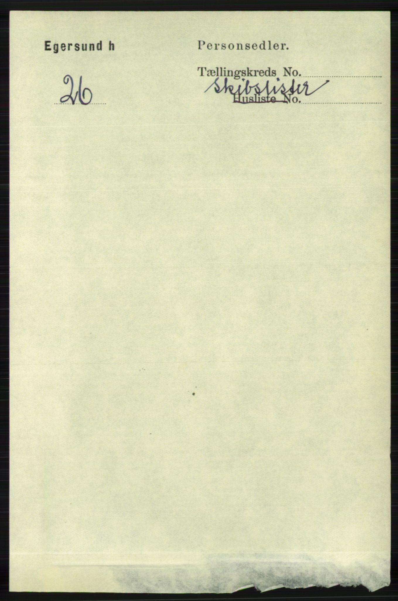 RA, Folketelling 1891 for 1116 Eigersund herred, 1891, s. 3423
