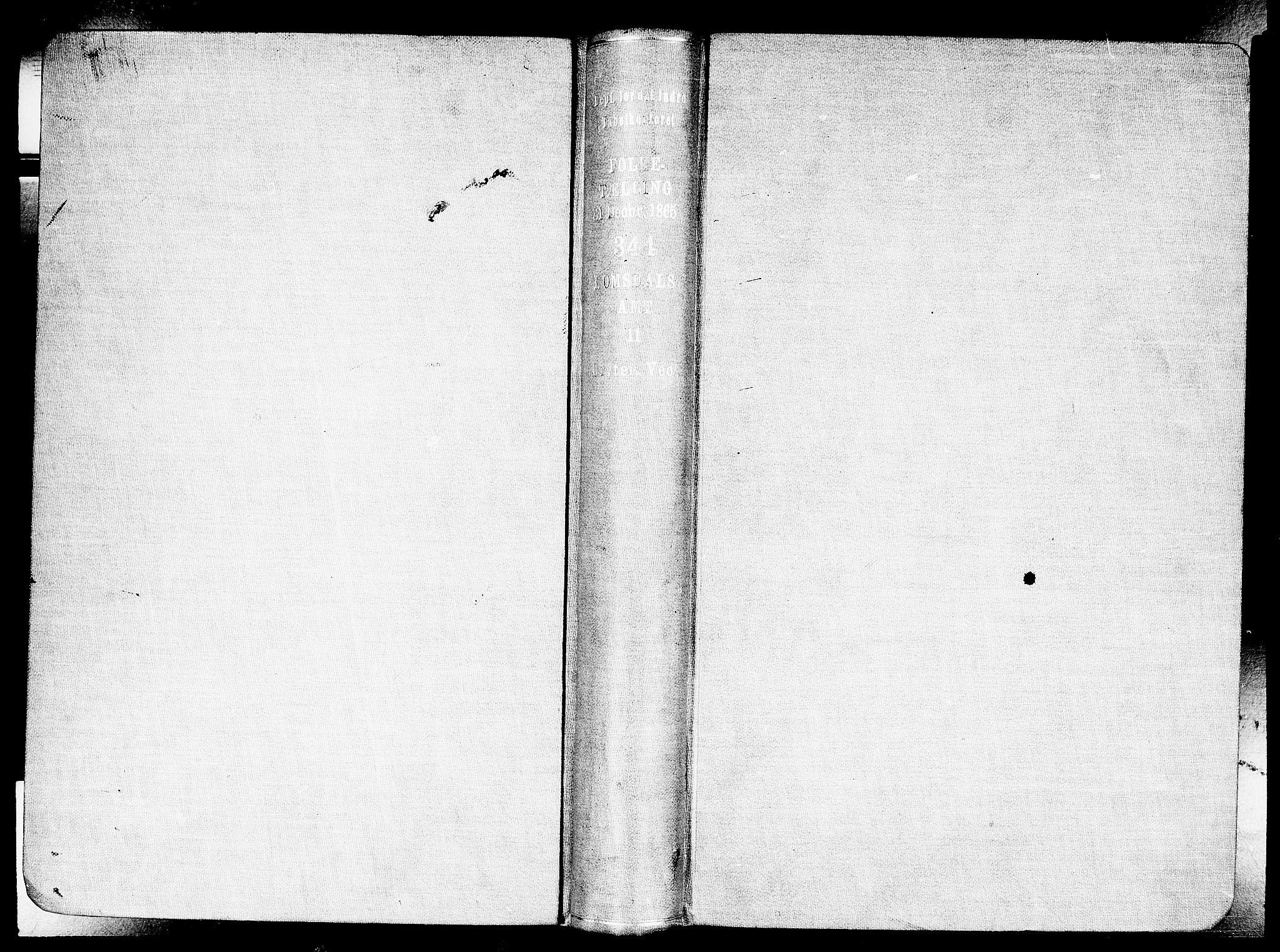 RA, Folketelling 1865 for 1539P Grytten prestegjeld, 1865, s. 2