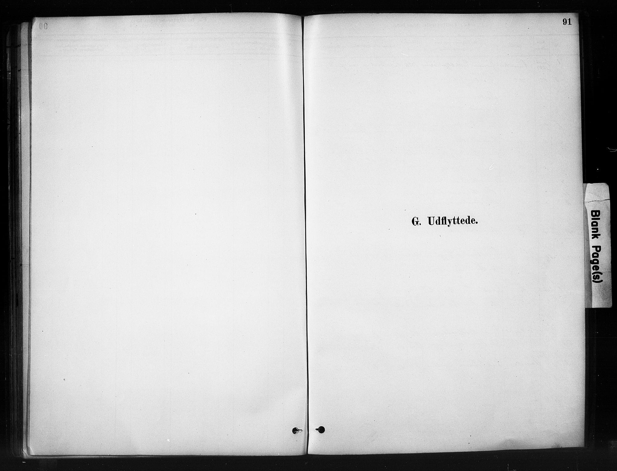 SAH, Nord-Aurdal prestekontor, Ministerialbok nr. 10, 1883-1896, s. 91