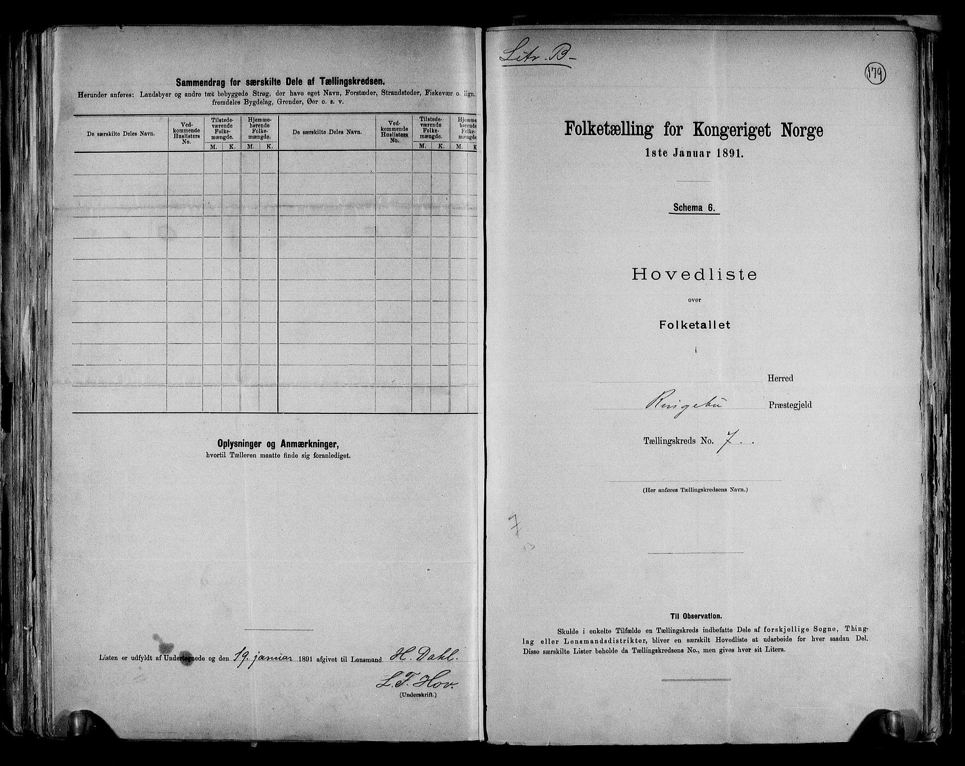 RA, Folketelling 1891 for 0520 Ringebu herred, 1891, s. 21