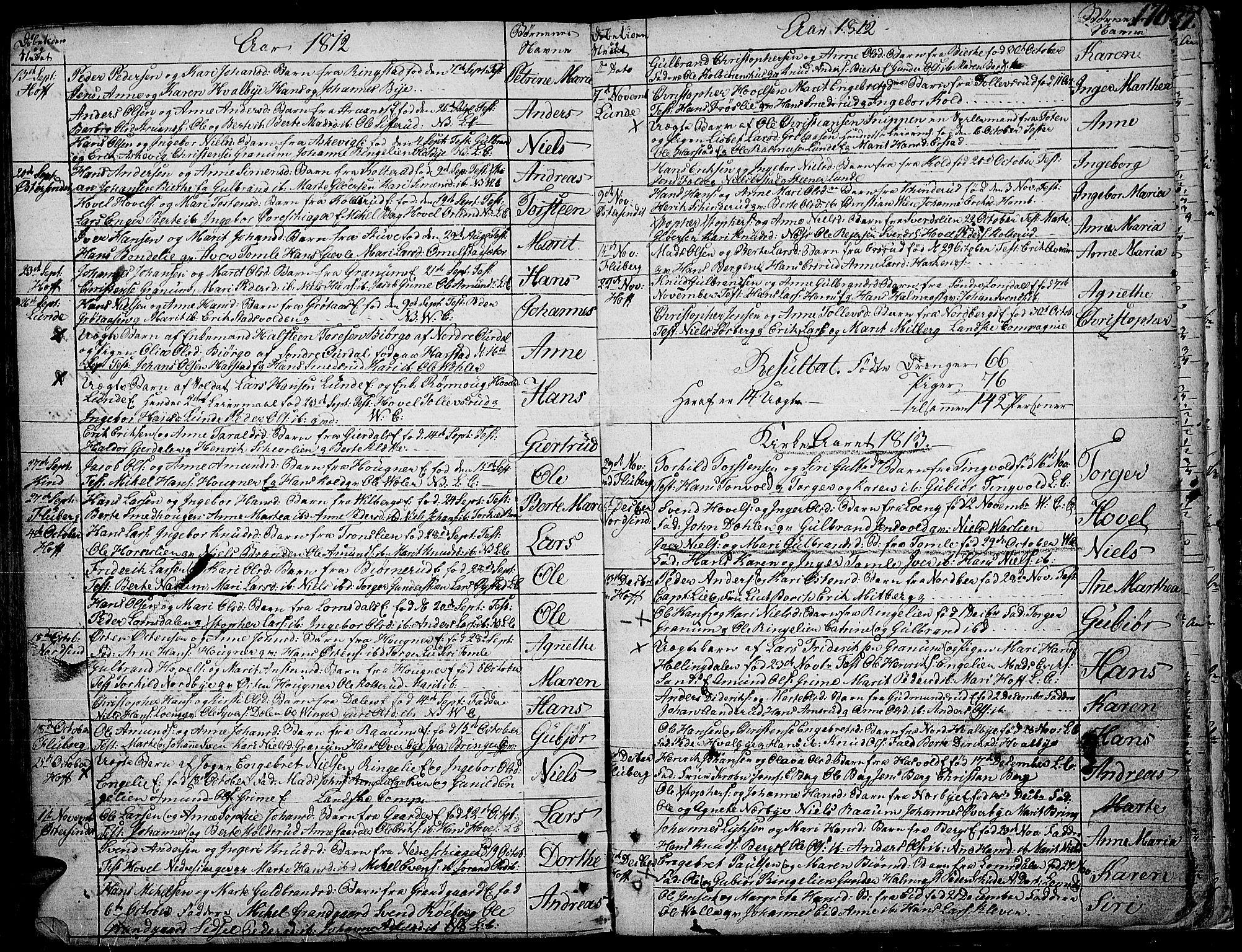 SAH, Land prestekontor, Ministerialbok nr. 6, 1784-1813, s. 176