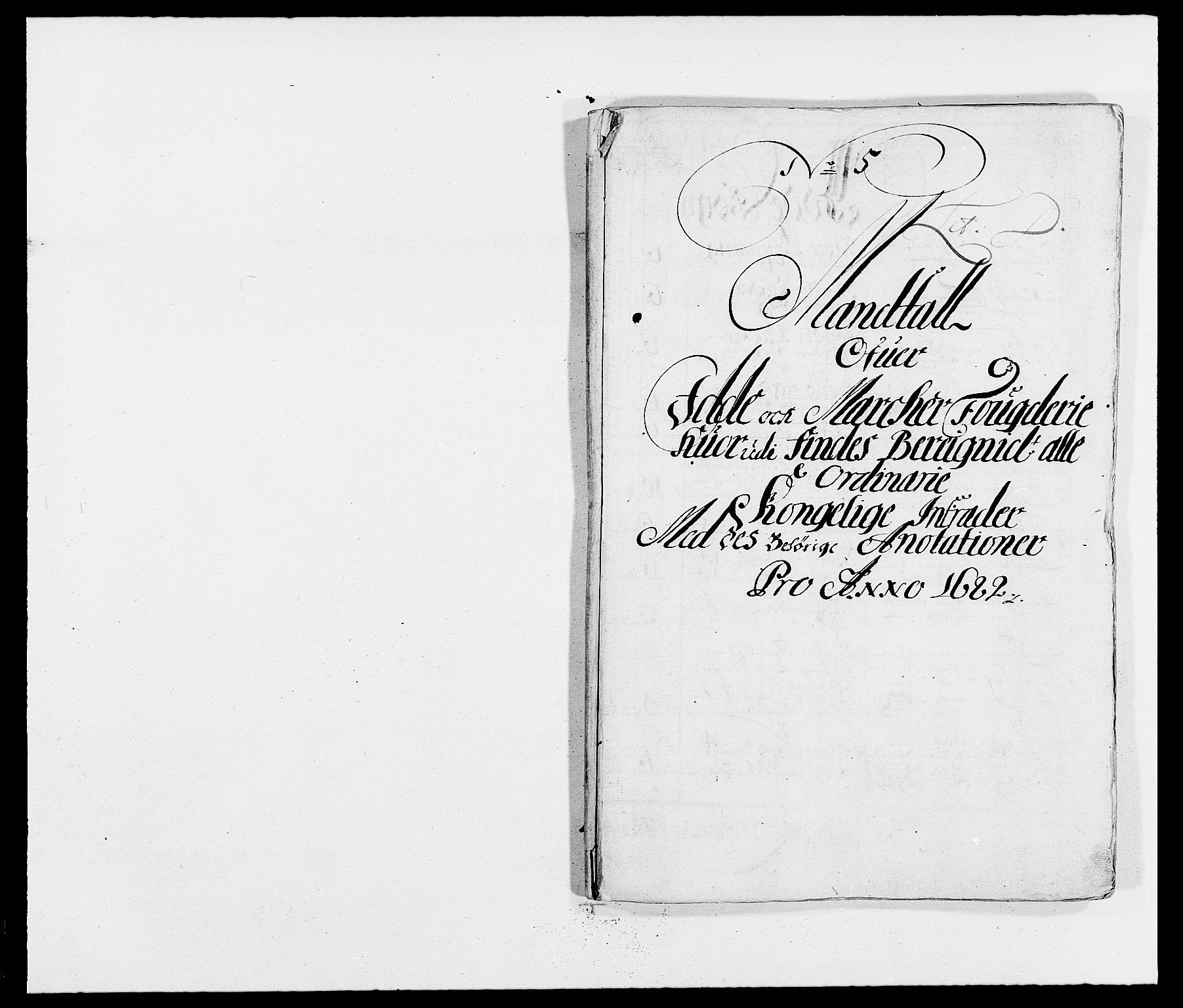 RA, Rentekammeret inntil 1814, Reviderte regnskaper, Fogderegnskap, R01/L0004: Fogderegnskap Idd og Marker , 1682-1683, s. 57