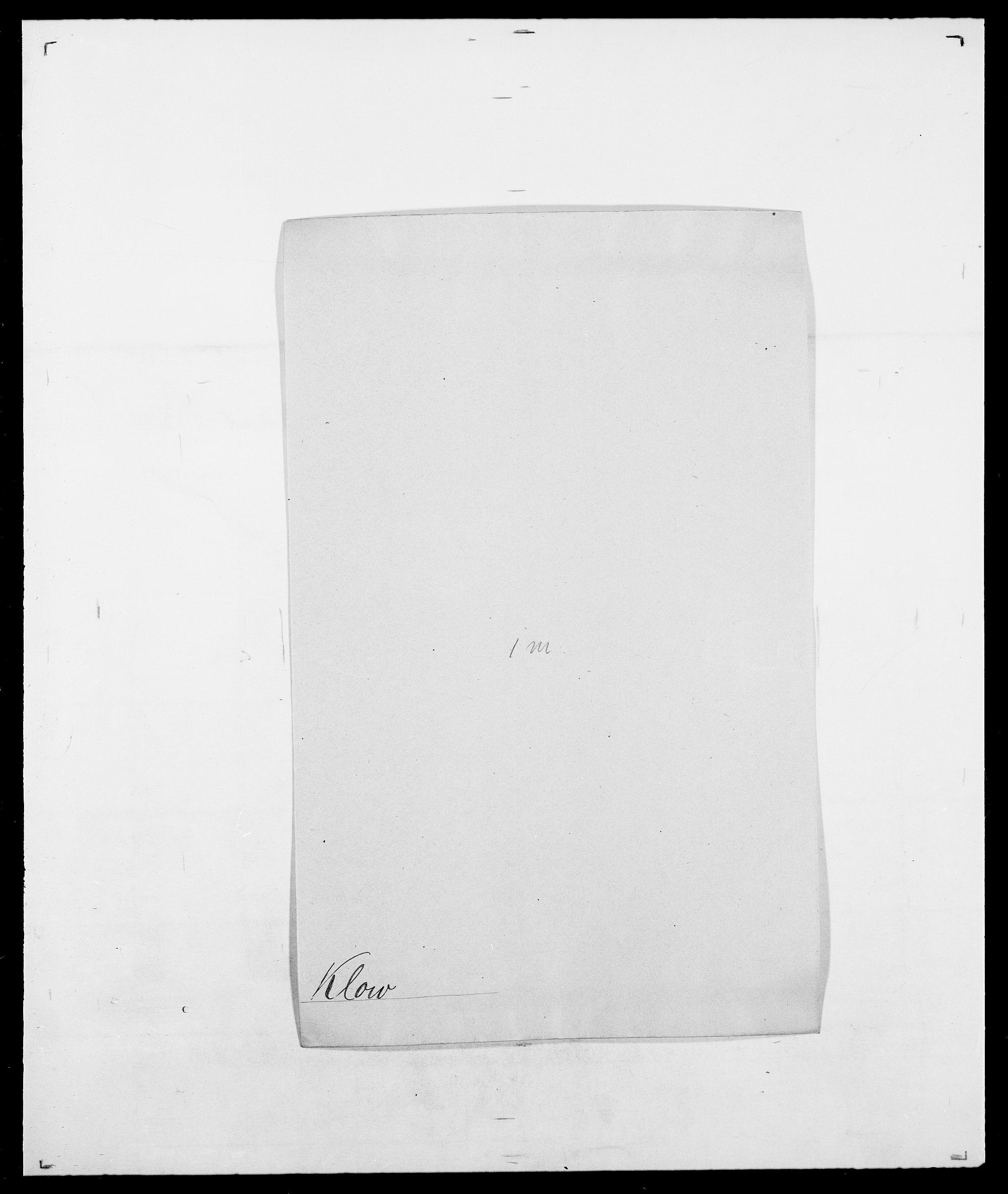 SAO, Delgobe, Charles Antoine - samling, D/Da/L0021: Klagenberg - Kristoft, s. 164