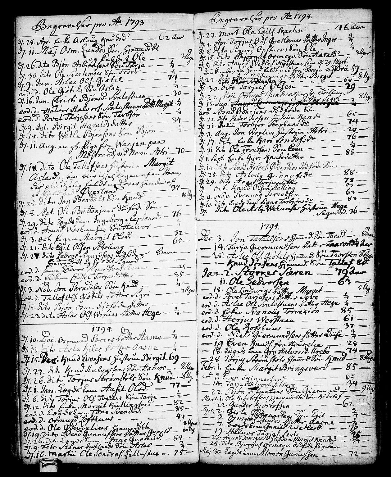 SAKO, Vinje kirkebøker, F/Fa/L0002: Ministerialbok nr. I 2, 1767-1814