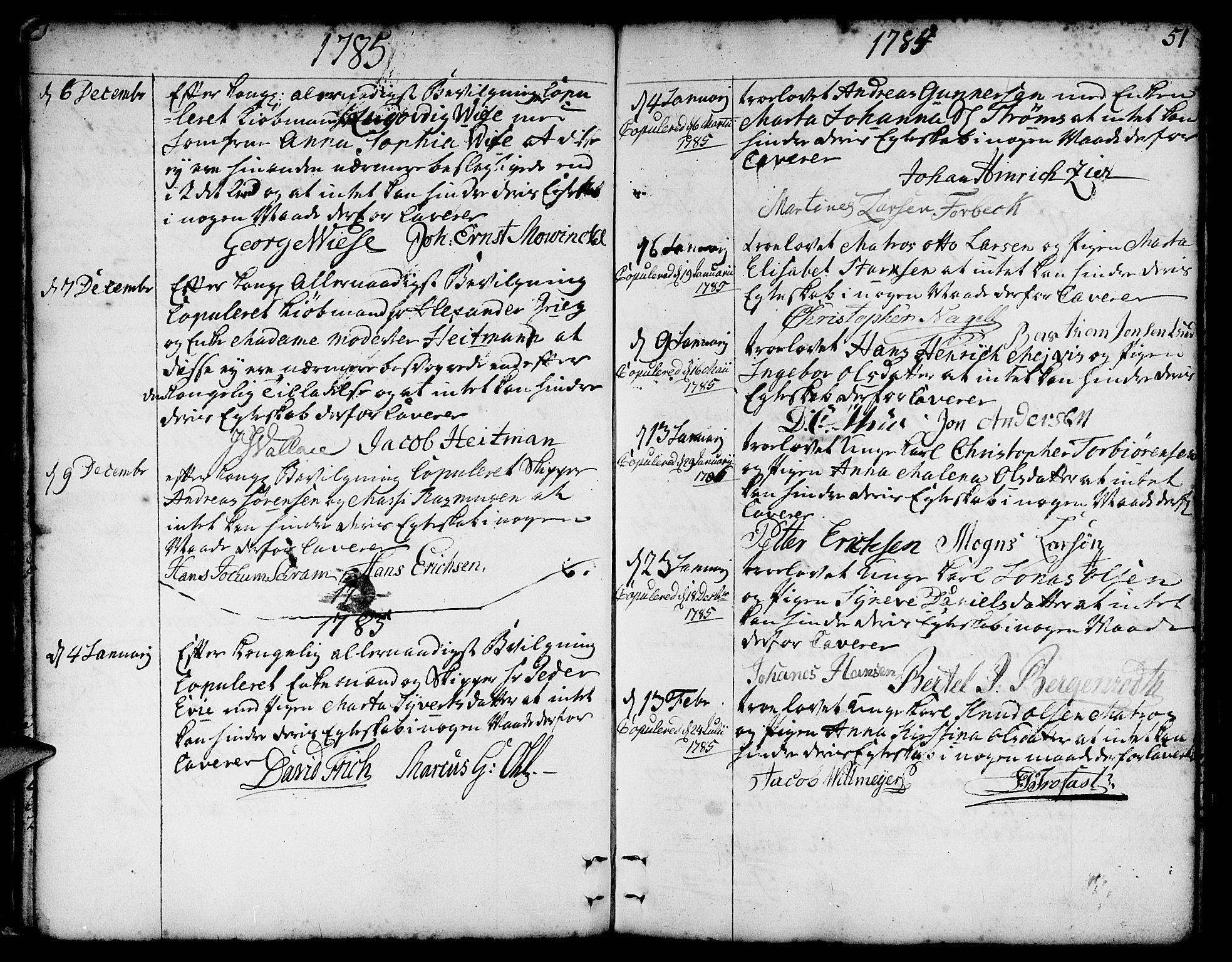 SAB, Nykirken Sokneprestembete, H/Haa: Ministerialbok nr. A 8, 1776-1814, s. 51