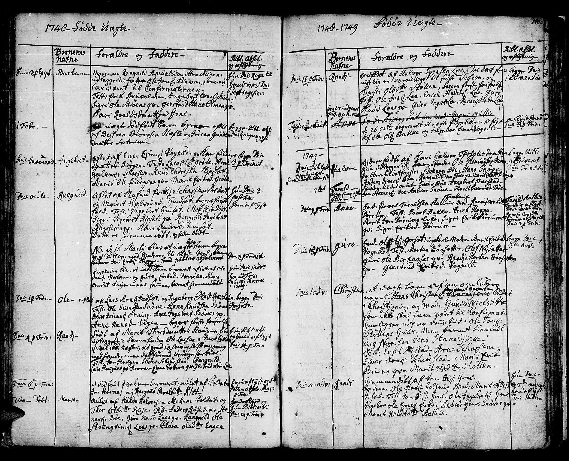 SAT, Ministerialprotokoller, klokkerbøker og fødselsregistre - Sør-Trøndelag, 678/L0891: Ministerialbok nr. 678A01, 1739-1780, s. 140