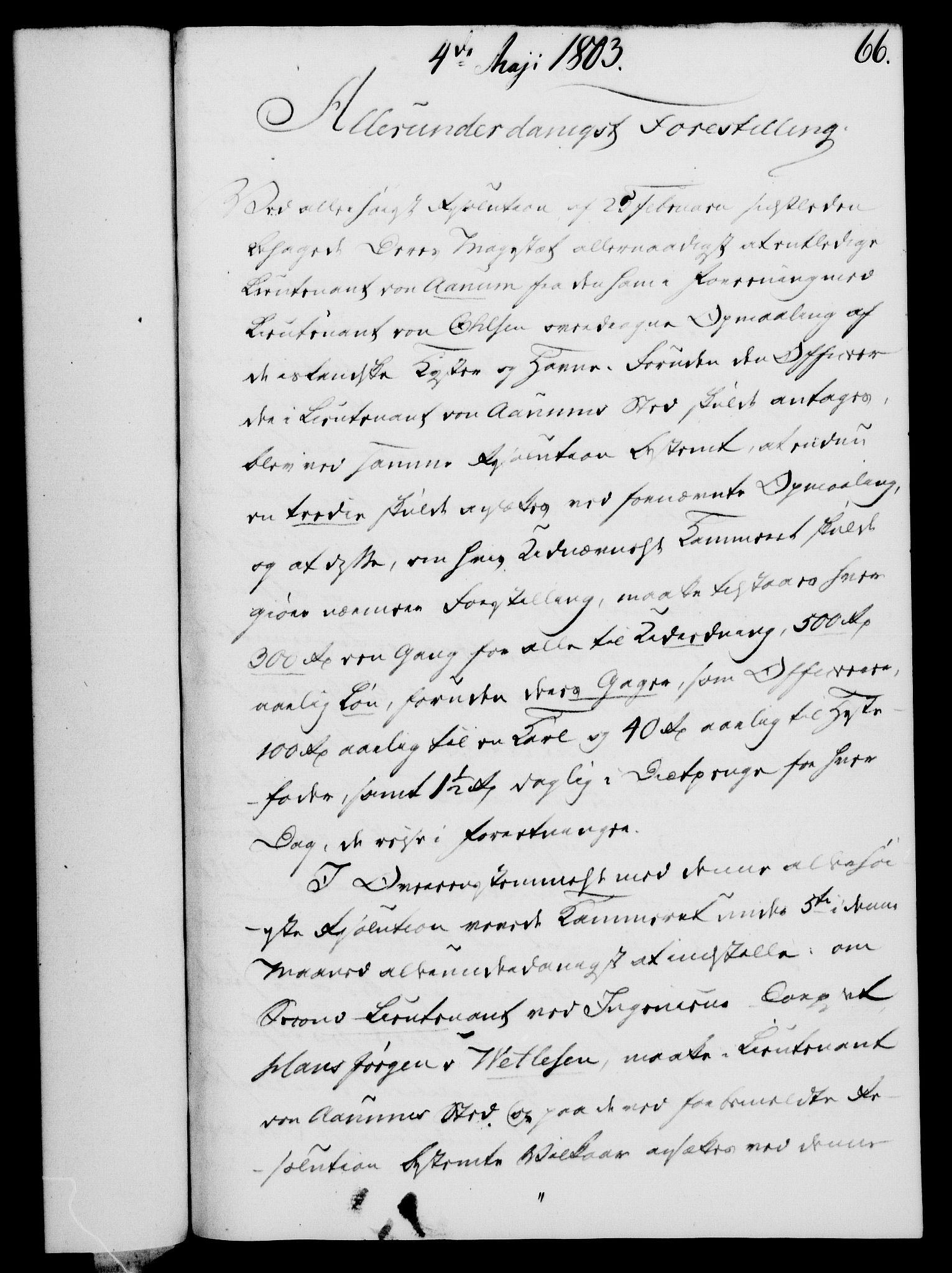 RA, Rentekammeret, Kammerkanselliet, G/Gf/Gfa/L0085: Norsk relasjons- og resolusjonsprotokoll (merket RK 52.85), 1803, s. 416
