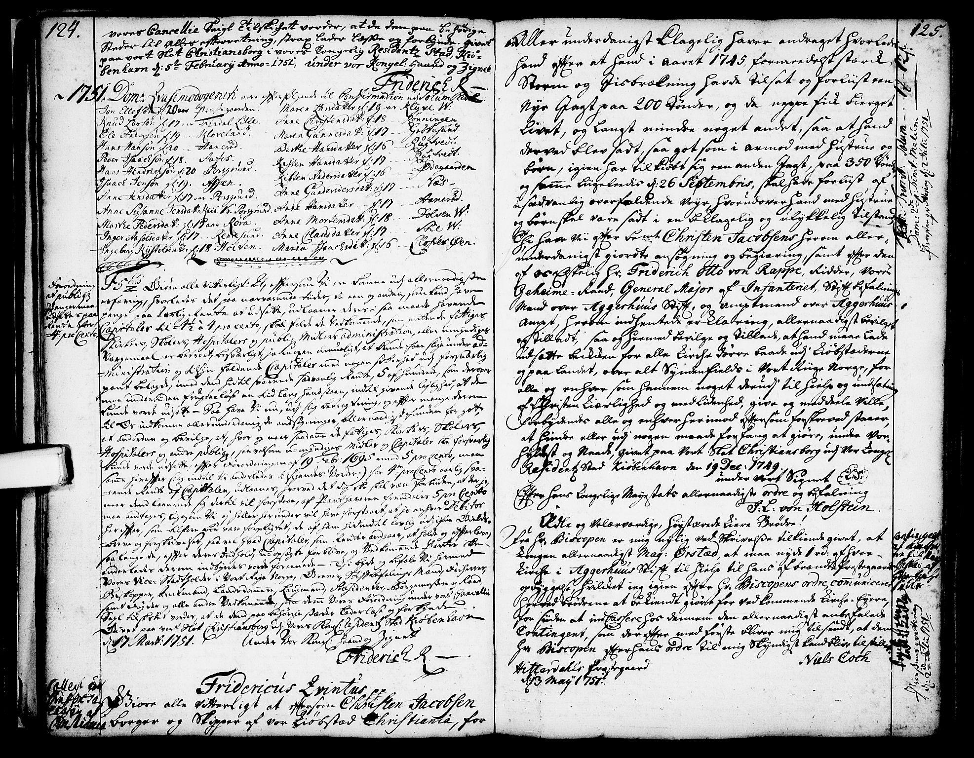 SAKO, Solum kirkebøker, Annen kirkebok nr. ?, 1743-1791, s. 124-125