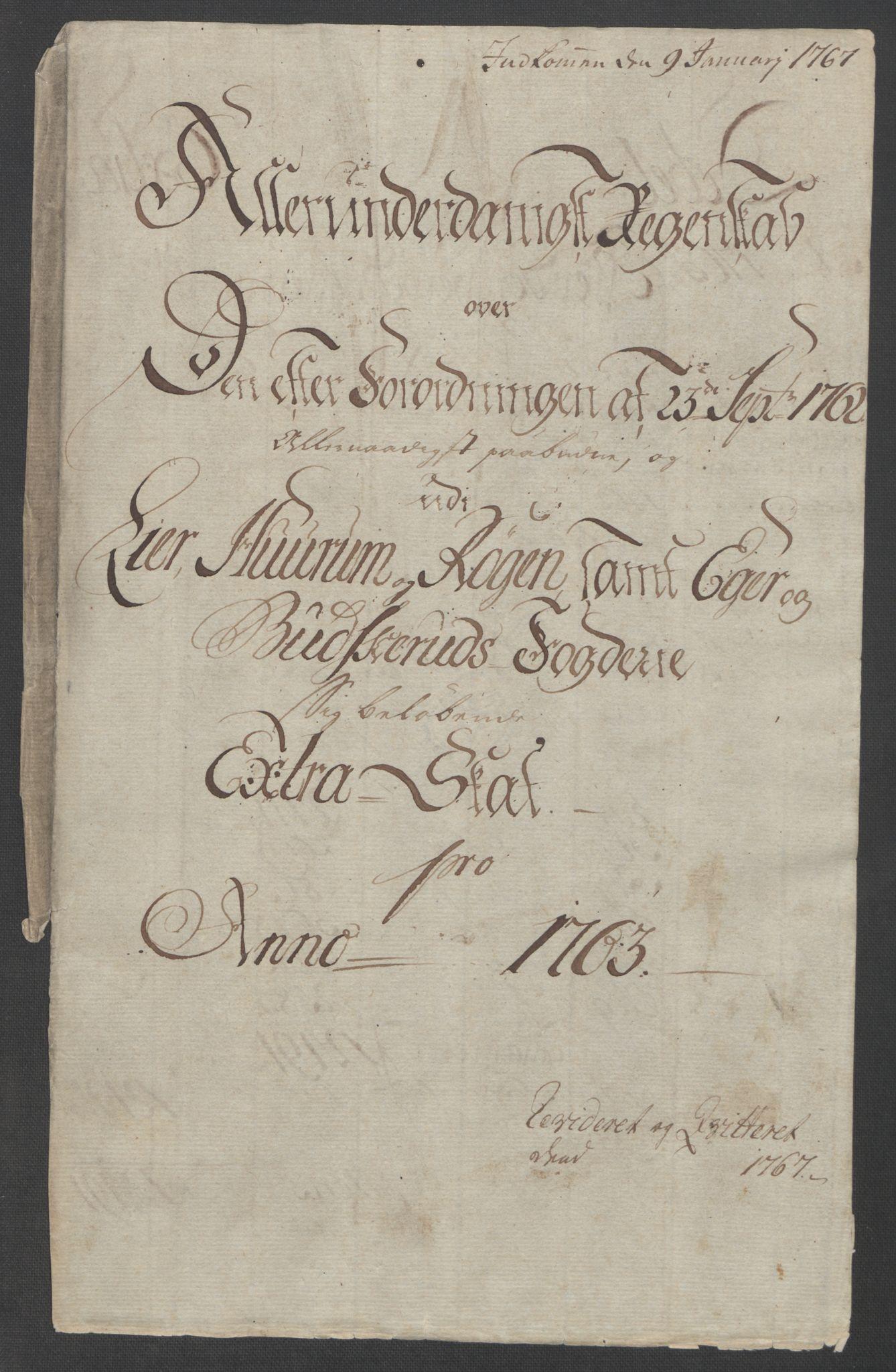 RA, Rentekammeret inntil 1814, Reviderte regnskaper, Fogderegnskap, R31/L1833: Ekstraskatten Hurum, Røyken, Eiker, Lier og Buskerud, 1762-1764, s. 52