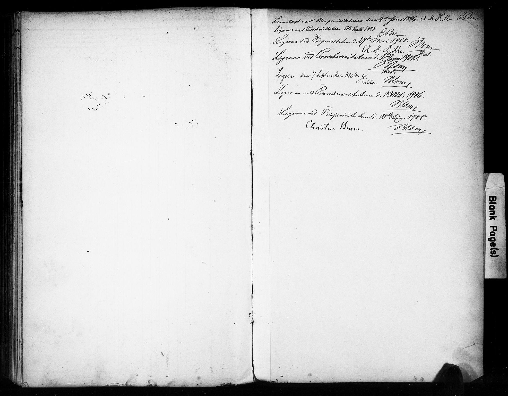 SAH, Vestre Toten prestekontor, H/Ha/Haa/L0011: Ministerialbok nr. 11, 1895-1906, s. 400