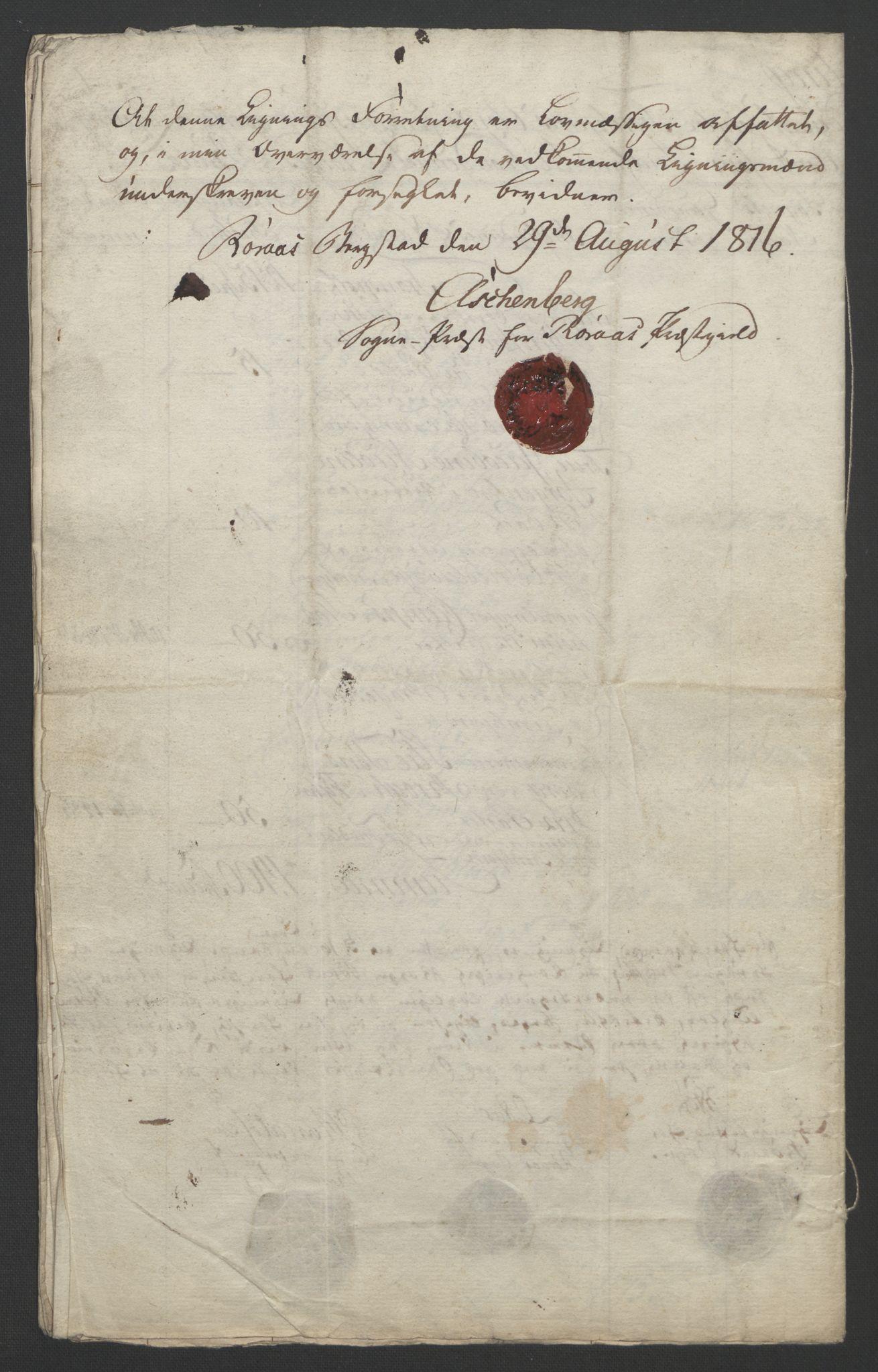 NOBA, Norges Bank/Sølvskatten 1816*, 1816-1821, s. 146