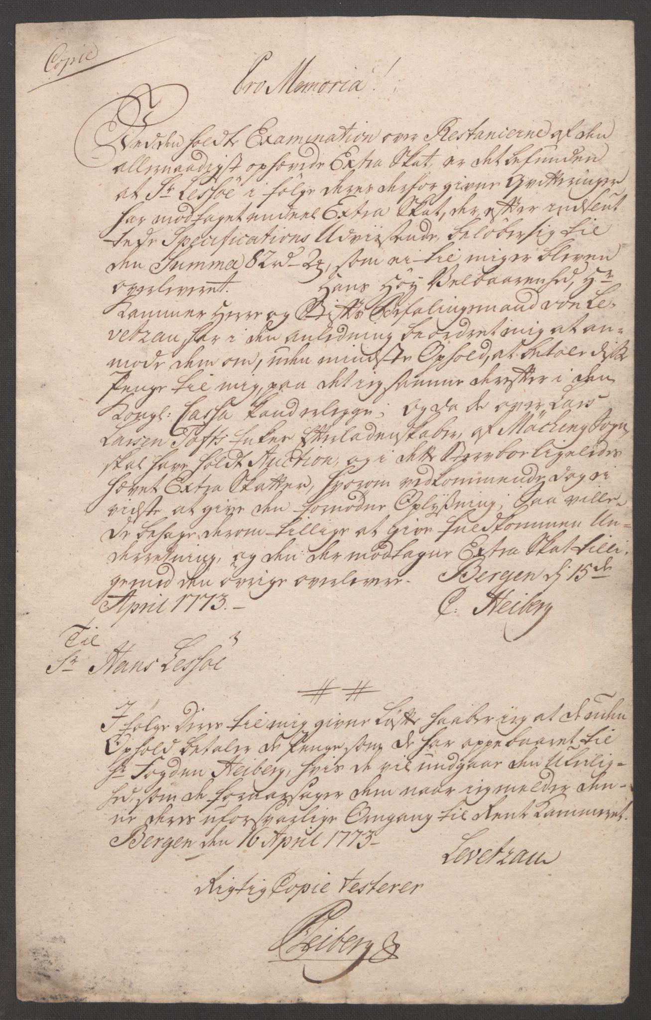RA, Rentekammeret inntil 1814, Reviderte regnskaper, Fogderegnskap, R51/L3303: Ekstraskatten Nordhordland og Voss, 1762-1772, s. 694