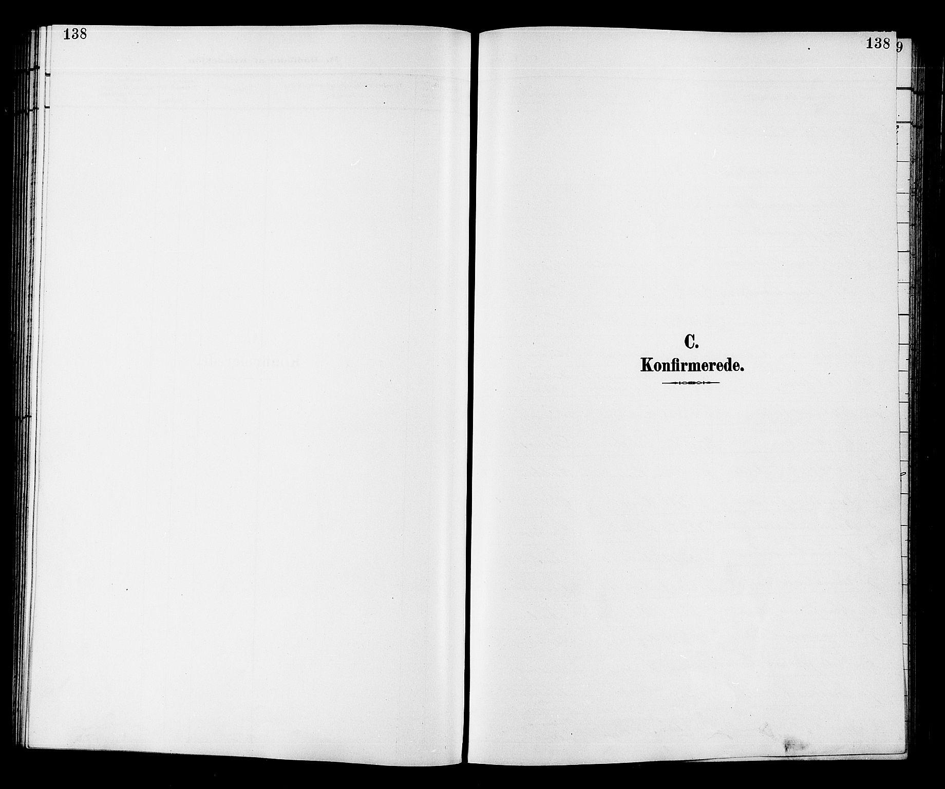 SAKO, Fiskum kirkebøker, G/Ga/L0005: Klokkerbok nr. 5, 1887-1912, s. 138