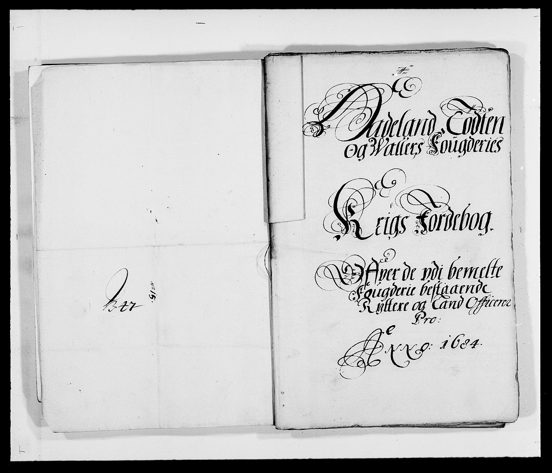 RA, Rentekammeret inntil 1814, Reviderte regnskaper, Fogderegnskap, R18/L1283: Fogderegnskap Hadeland, Toten og Valdres, 1684, s. 279