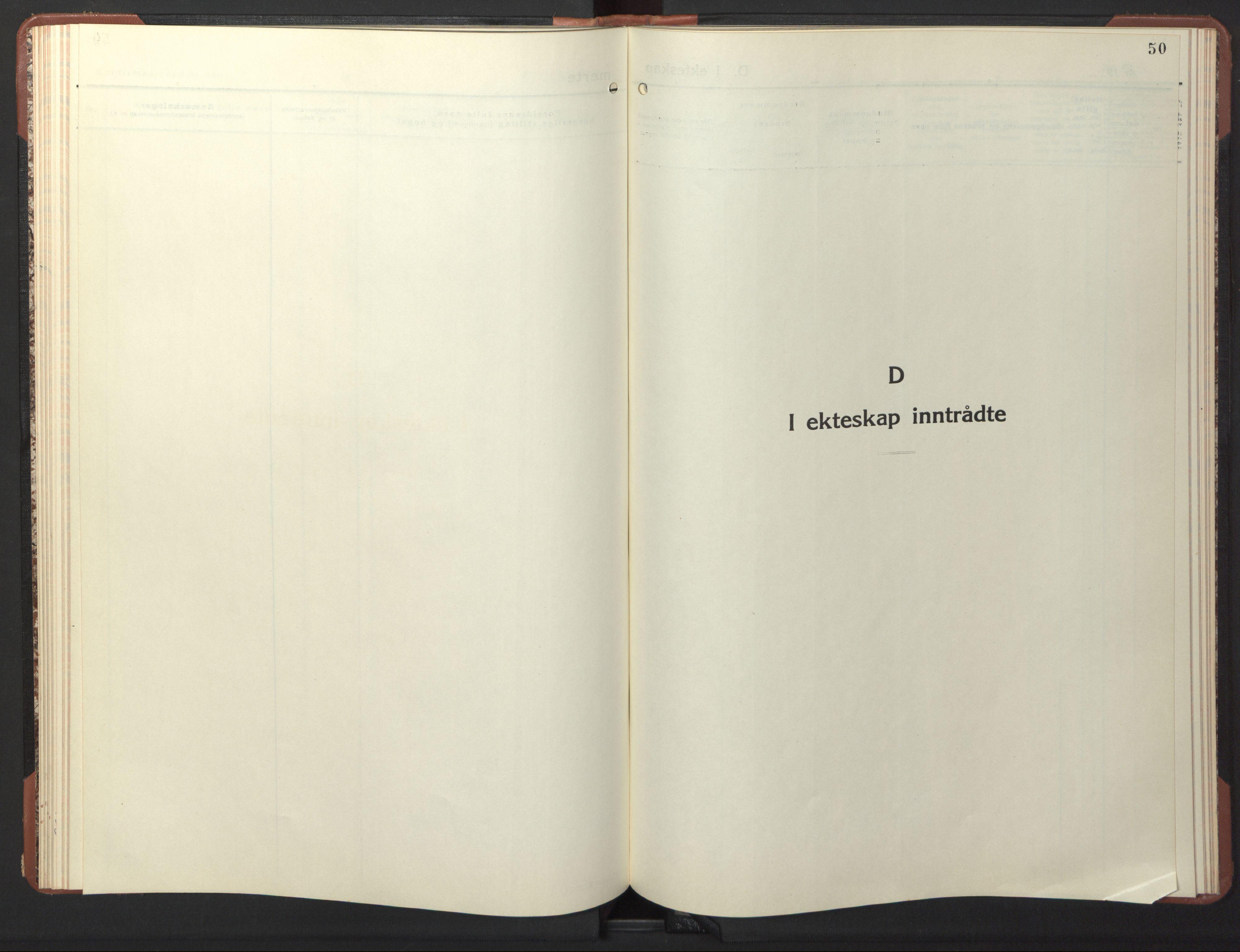 SAT, Ministerialprotokoller, klokkerbøker og fødselsregistre - Sør-Trøndelag, 617/L0433: Klokkerbok nr. 617C04, 1942-1947, s. 50