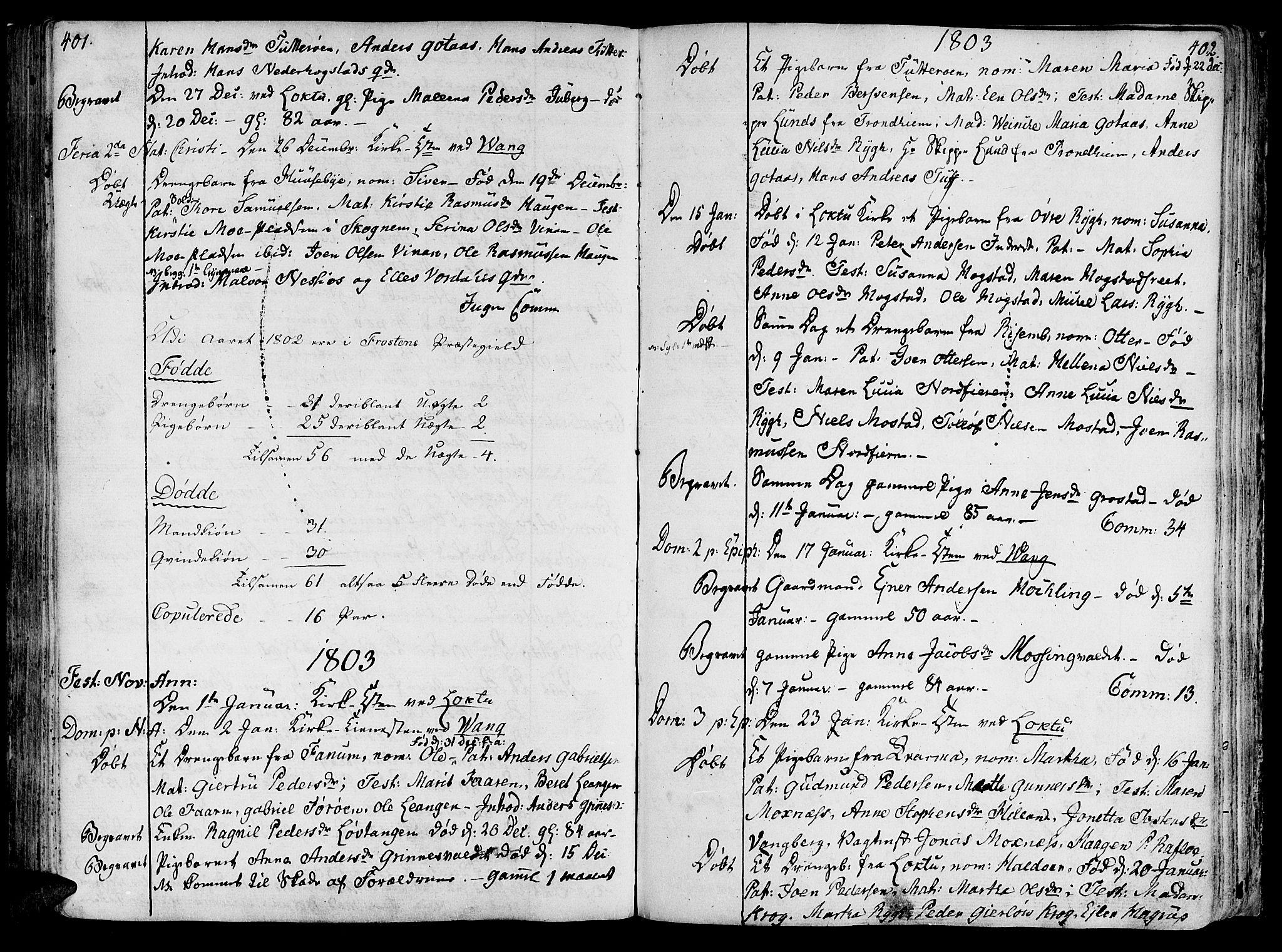 SAT, Ministerialprotokoller, klokkerbøker og fødselsregistre - Nord-Trøndelag, 713/L0110: Ministerialbok nr. 713A02, 1778-1811, s. 401-402