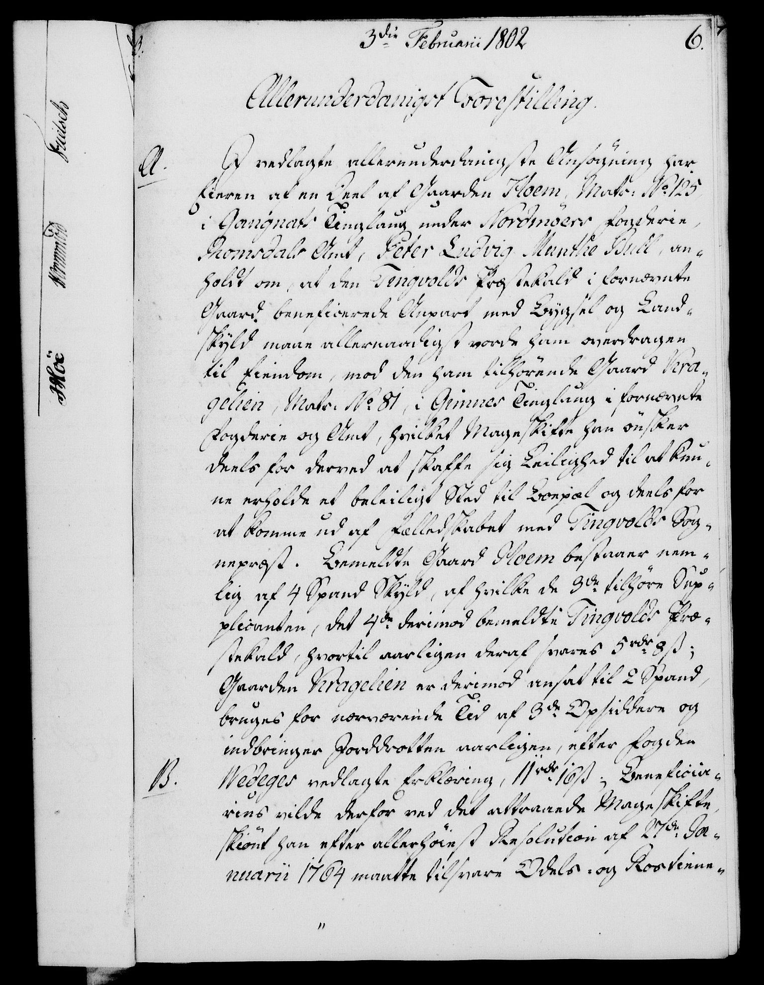 RA, Rentekammeret, Kammerkanselliet, G/Gf/Gfa/L0084: Norsk relasjons- og resolusjonsprotokoll (merket RK 52.84), 1802, s. 53