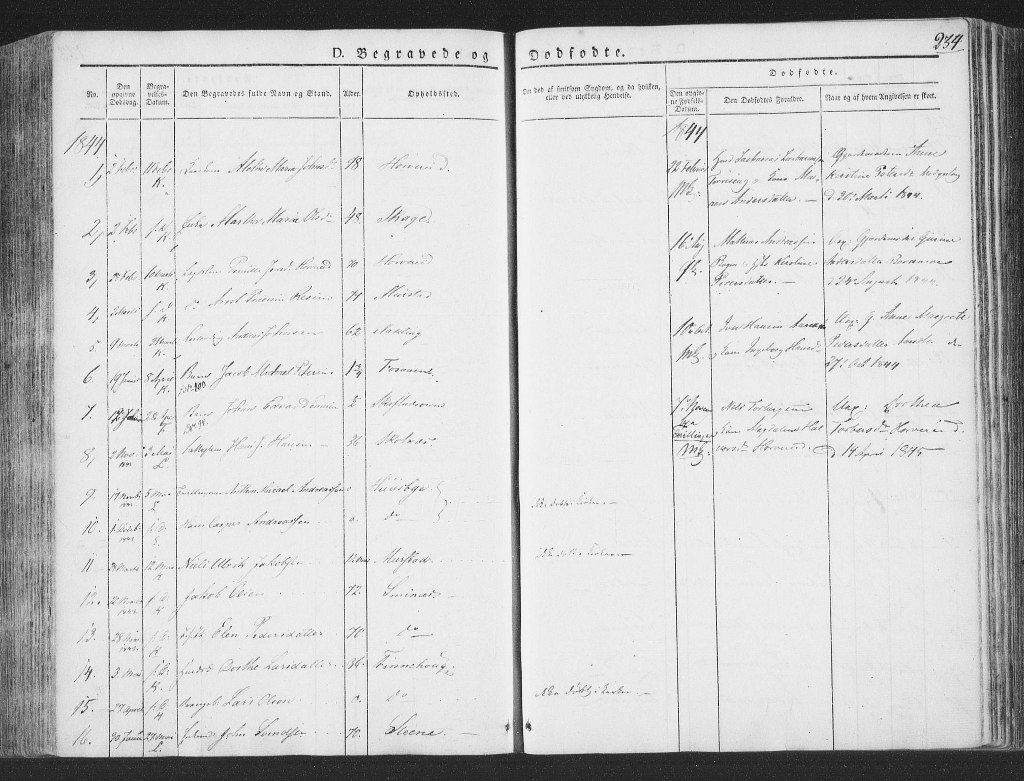 SAT, Ministerialprotokoller, klokkerbøker og fødselsregistre - Nord-Trøndelag, 780/L0639: Ministerialbok nr. 780A04, 1830-1844, s. 234