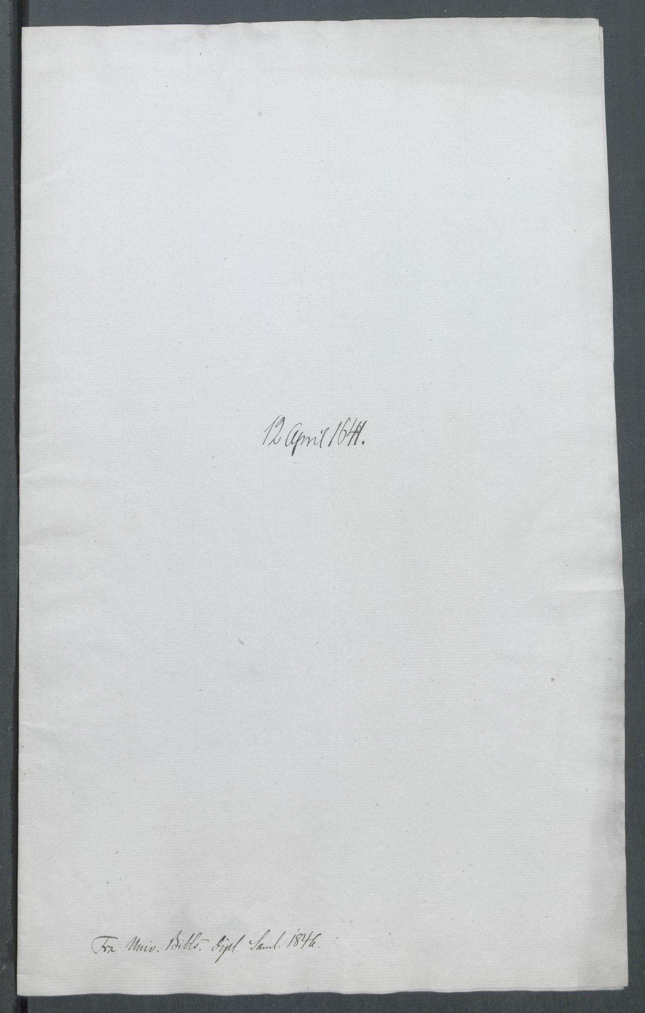 RA, Riksarkivets diplomsamling, F02/L0154: Dokumenter, 1641, s. 20