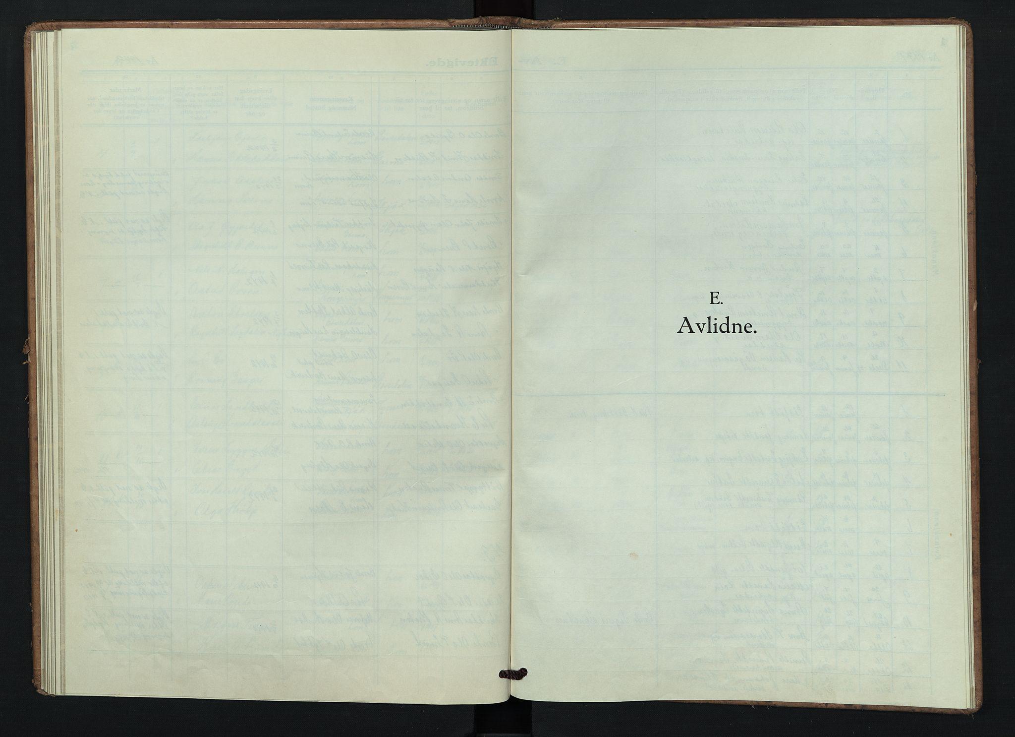 SAH, Lom prestekontor, L/L0009: Klokkerbok nr. 9, 1939-1947