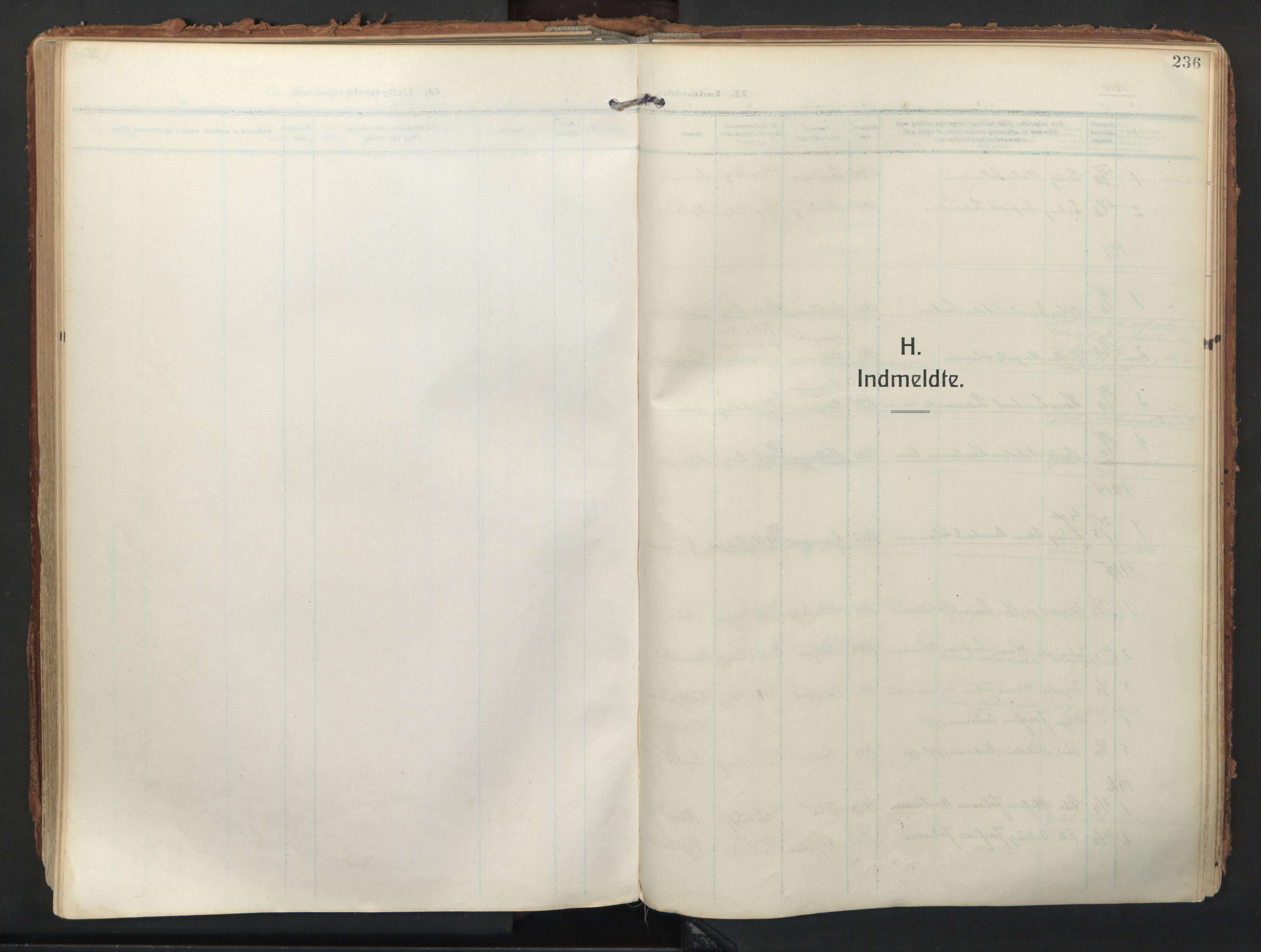 SATØ, Balsfjord sokneprestembete, Ministerialbok nr. 9, 1909-1921, s. 236