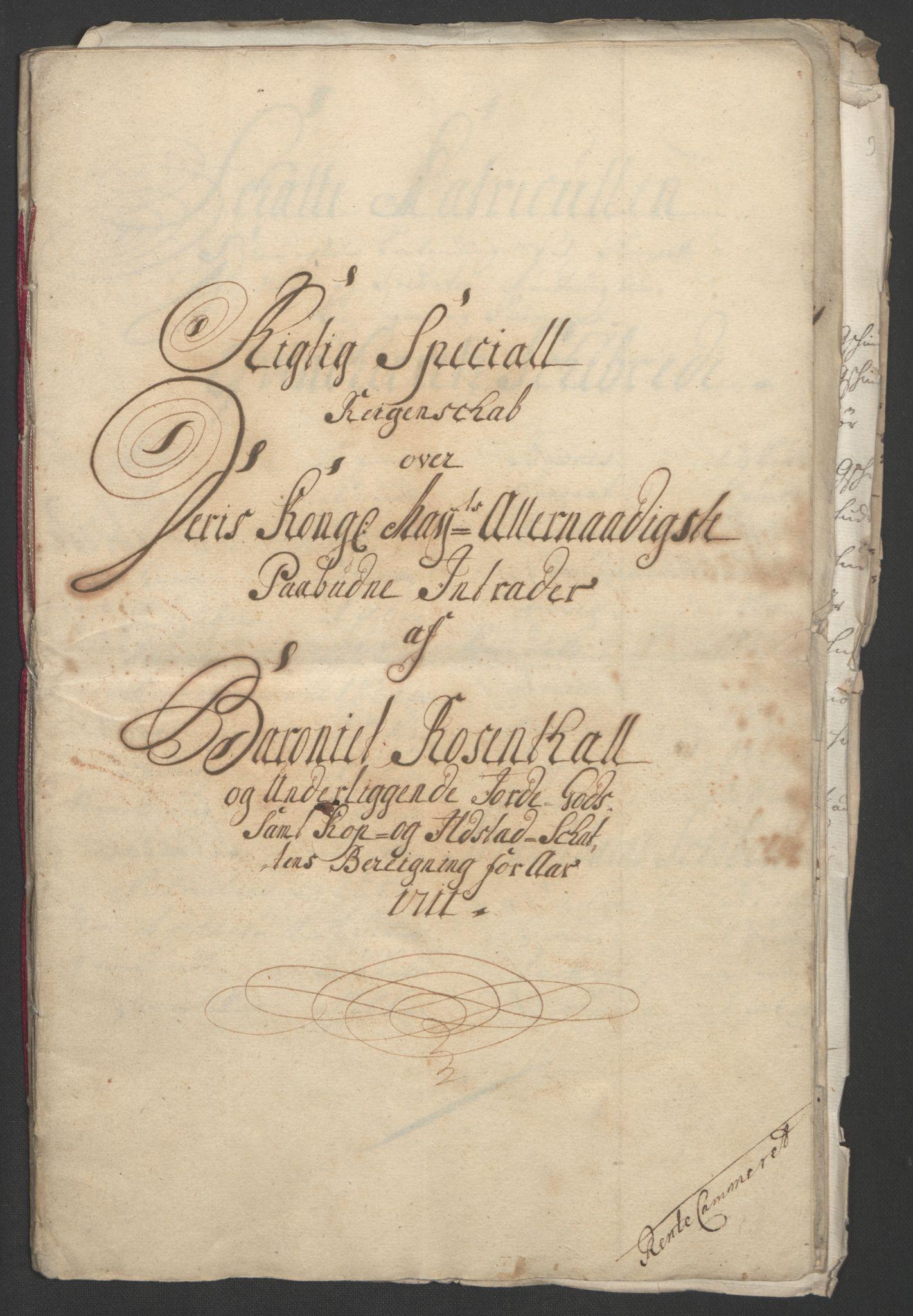 RA, Rentekammeret inntil 1814, Reviderte regnskaper, Fogderegnskap, R49/L3138: Fogderegnskap Rosendal Baroni, 1691-1714, s. 277