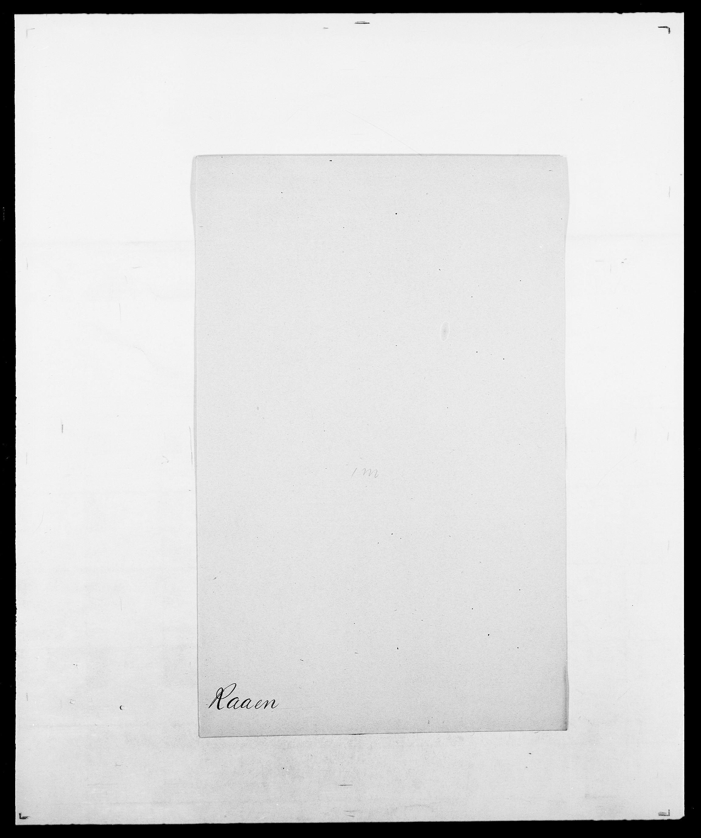 SAO, Delgobe, Charles Antoine - samling, D/Da/L0031: de Place - Raaum, s. 532